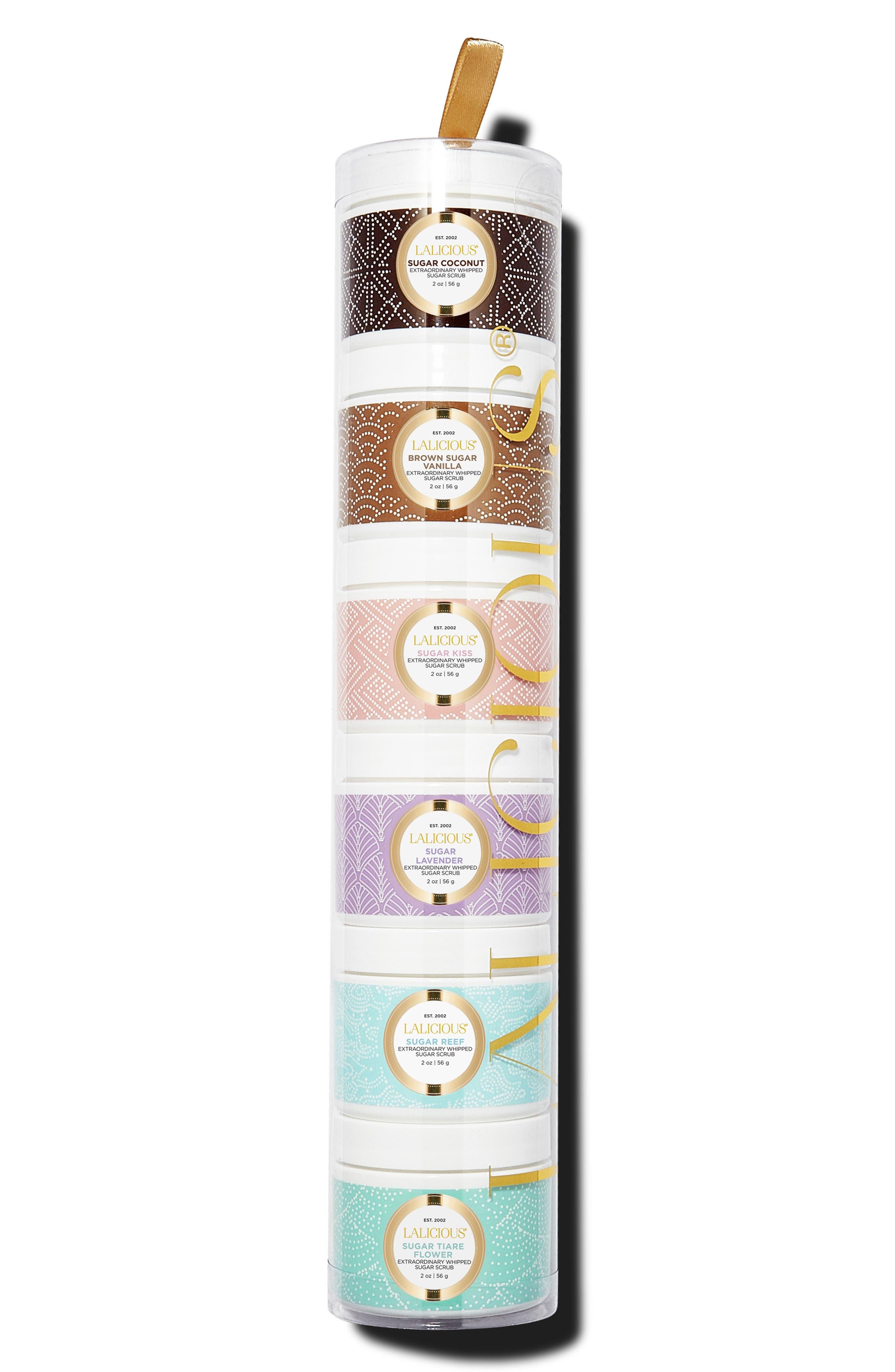 LALICIOUS, Sugar Scrub Tower Collection, Main thumbnail 1, color, 000