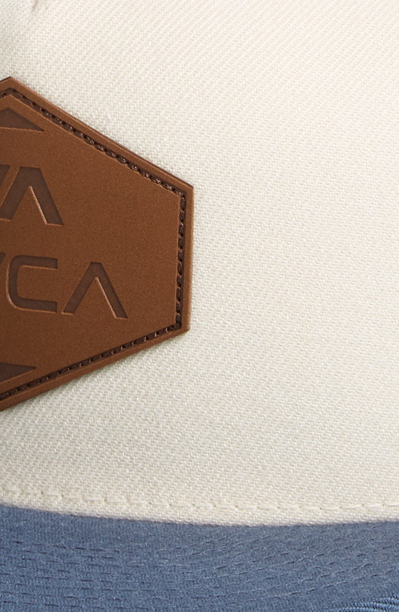 RVCA, What Logo Patch Baseball Cap, Alternate thumbnail 3, color, 100