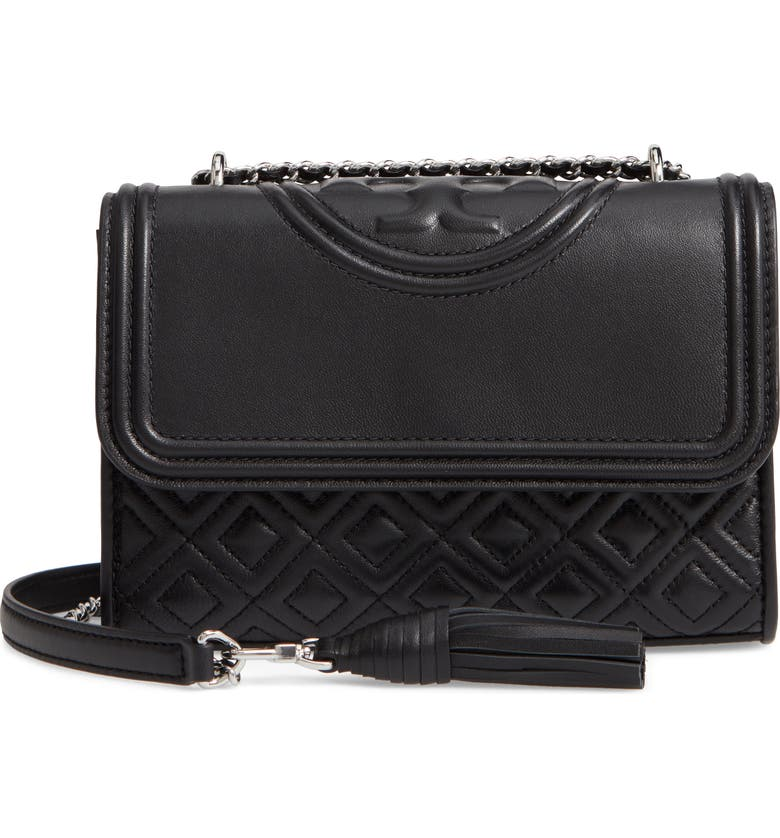 ea655513703 Tory Burch Small Fleming Leather Convertible Shoulder Bag
