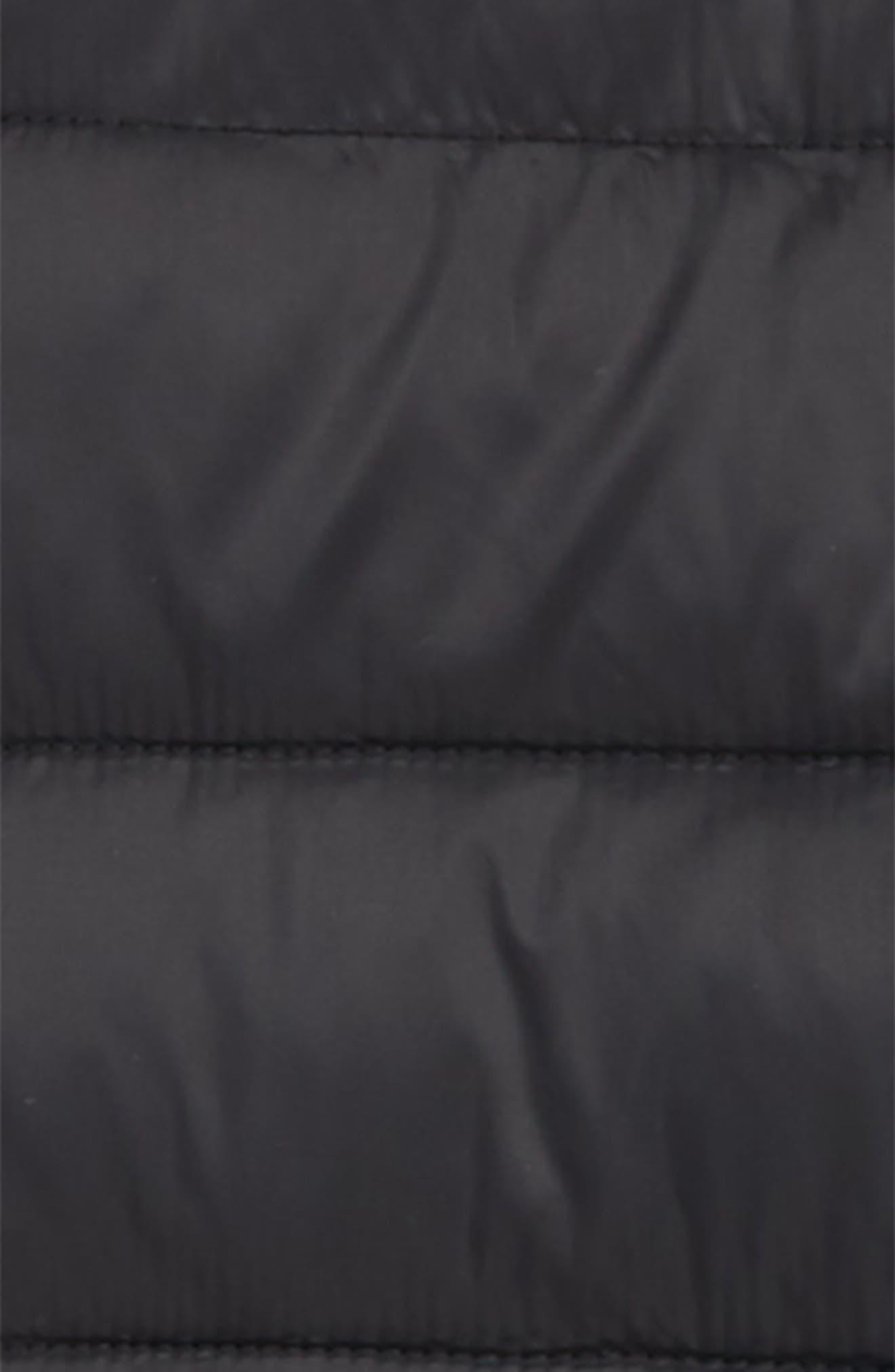 MOOSE KNUCKLES, Acadie Hooded Jacket, Alternate thumbnail 2, color, BLACK
