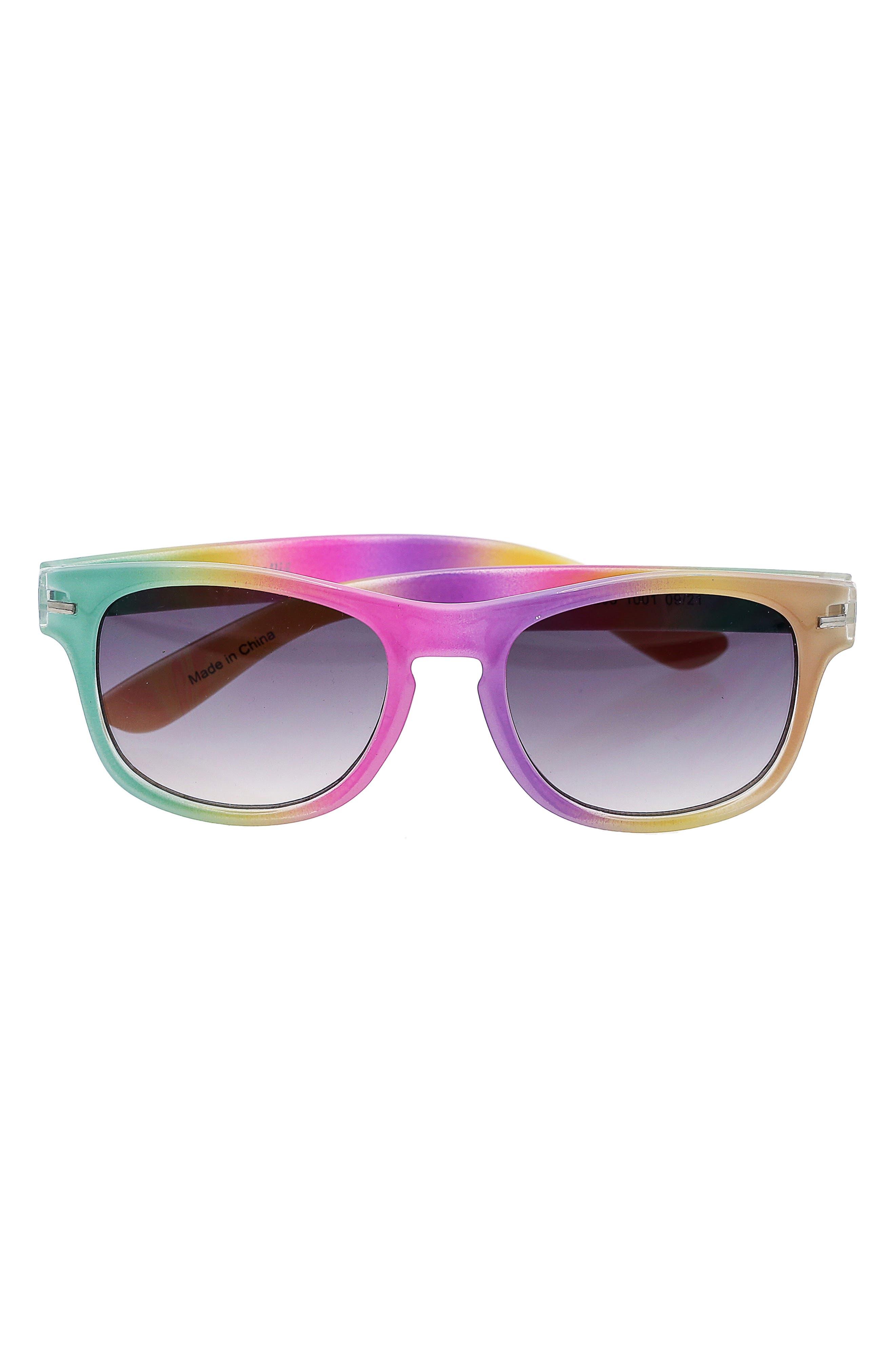 Girls Capelli New York Unicorn Sunglasses  Case Set  Silver Cmb