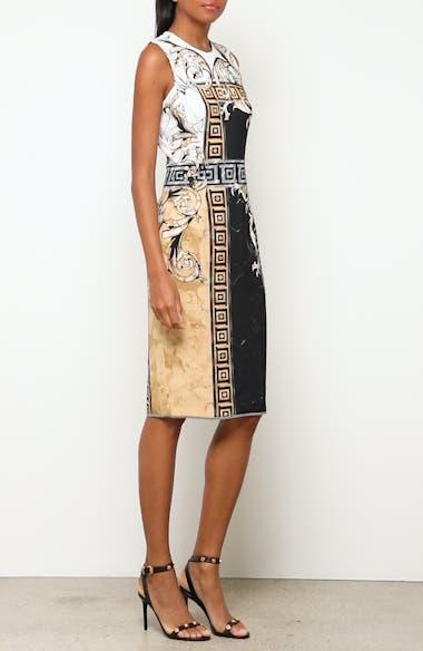 Marble Print Sheath Dress, video thumbnail