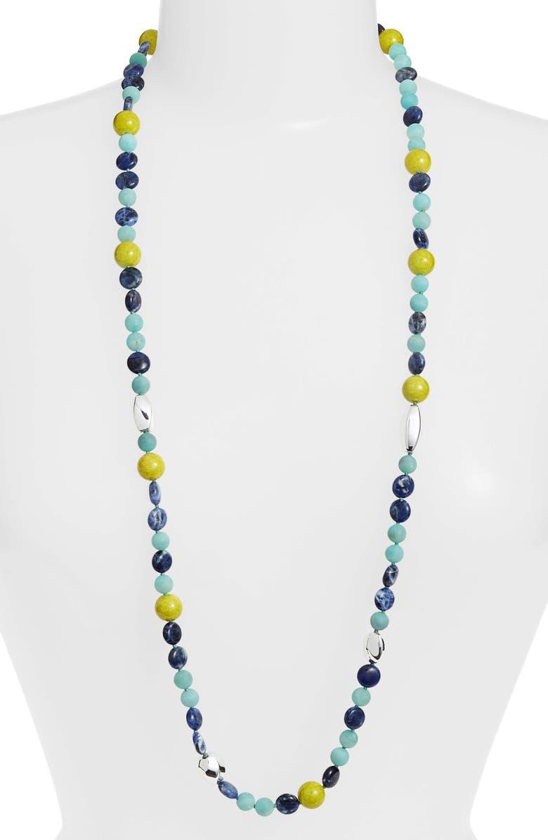 74591209013 Simon Sebbag Stone Bead Necklace