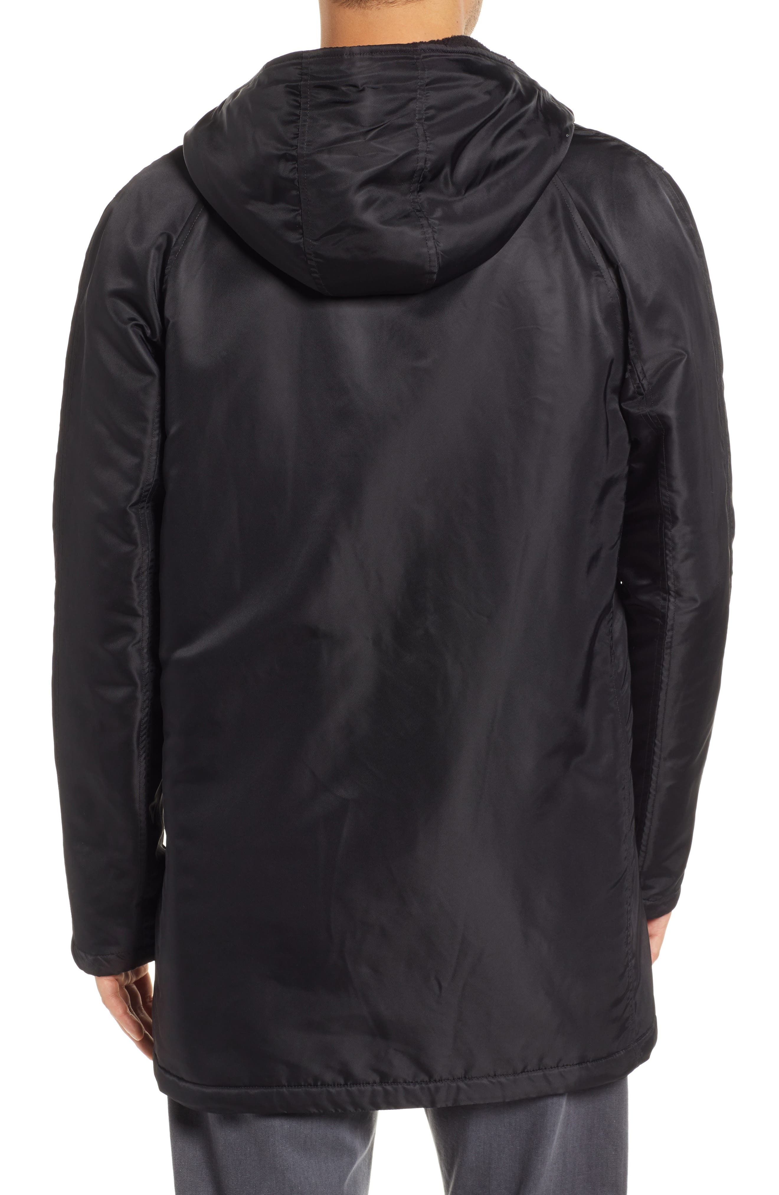 REIGNING CHAMP, Water Resistant Insulated Parka, Alternate thumbnail 2, color, 001