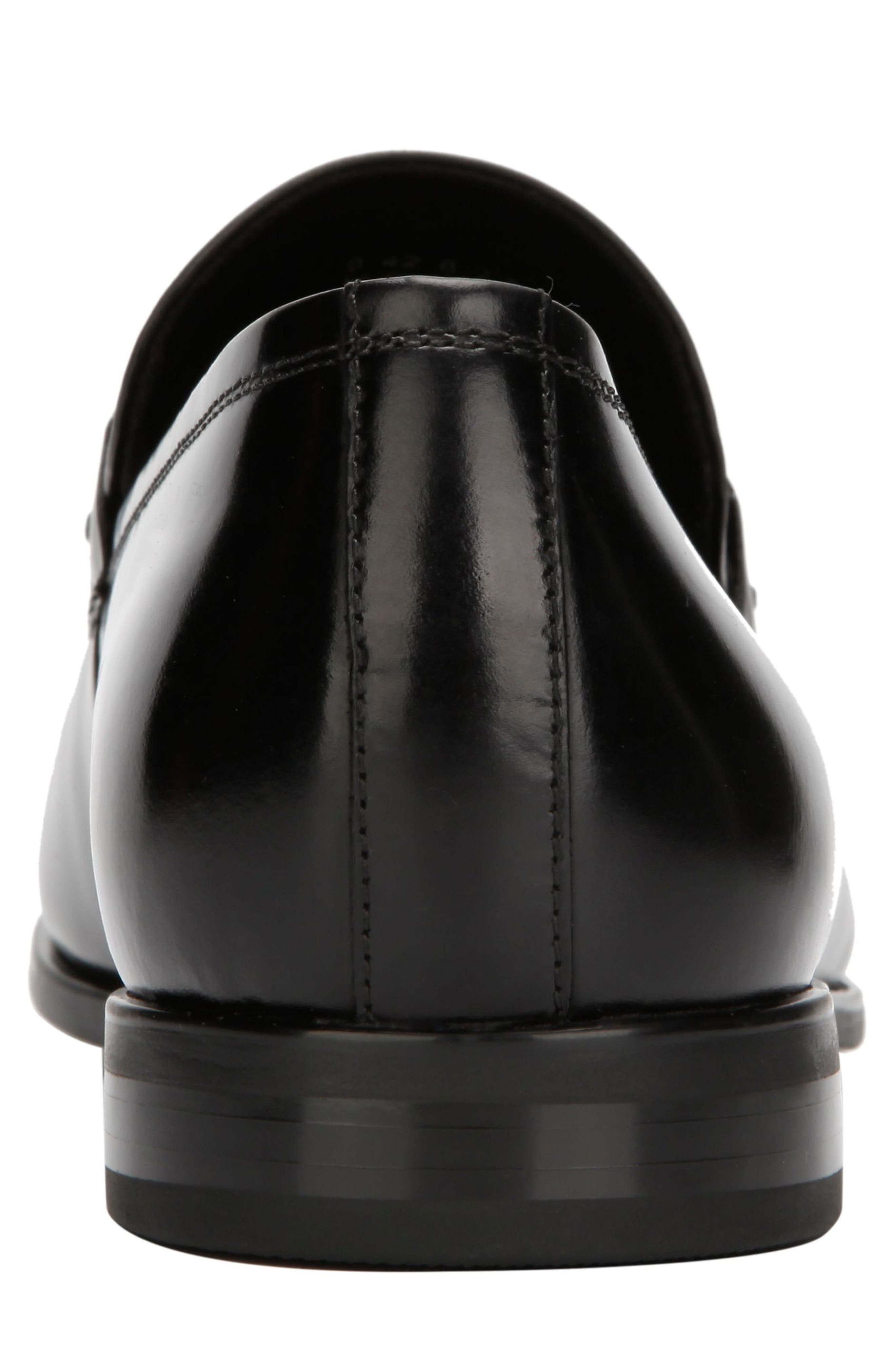 KENNETH COLE NEW YORK, Aaron Toe Loafer, Alternate thumbnail 5, color, 001