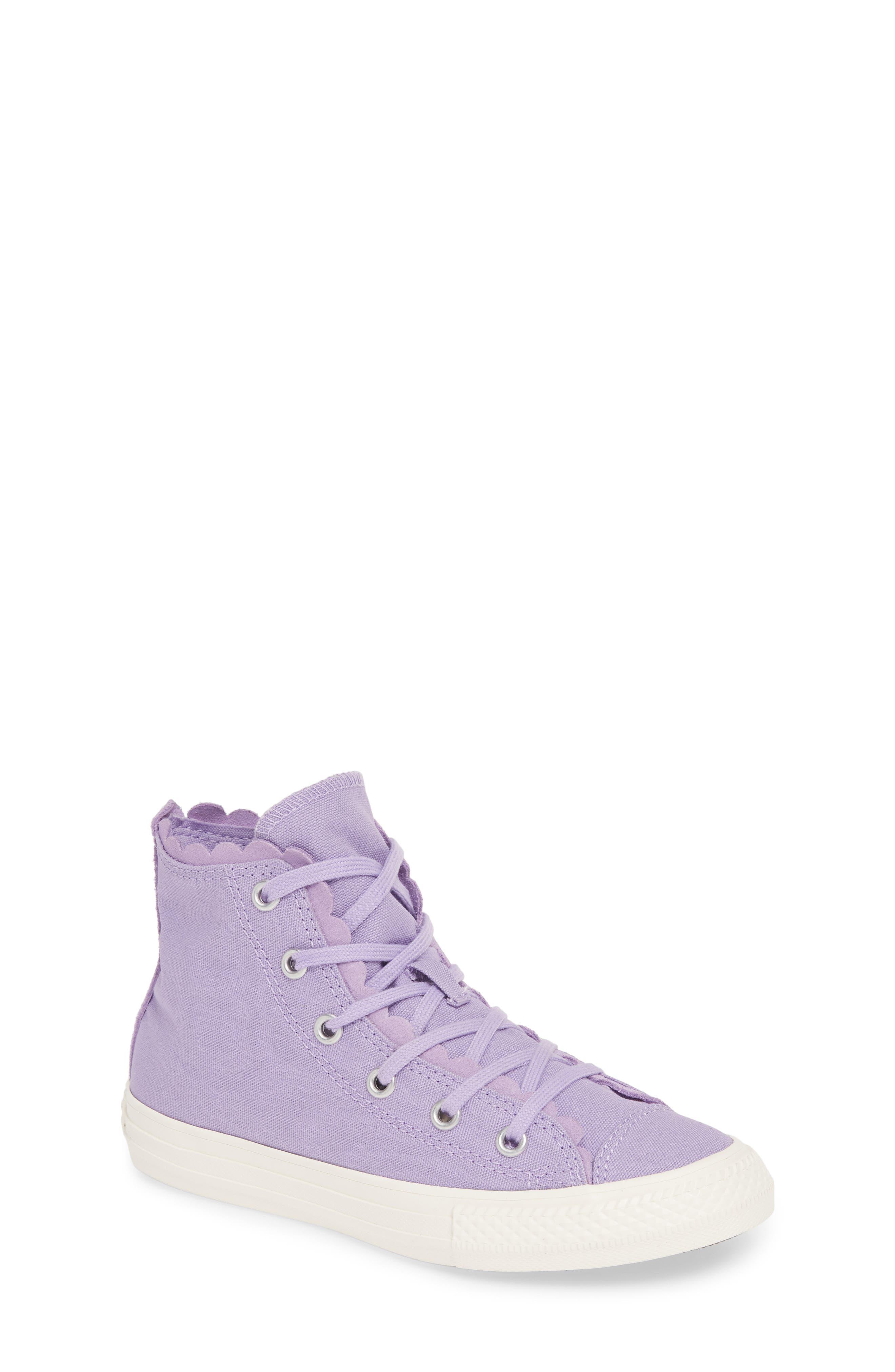 2b074d2b8607 Converse Chuck Taylor All Star Frill High Top Sneaker