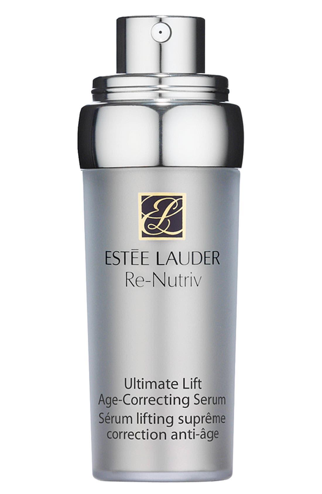 ESTÉE LAUDER, Re-Nutriv Ultimate Lift Age-Correcting Serum, Main thumbnail 1, color, NO COLOR