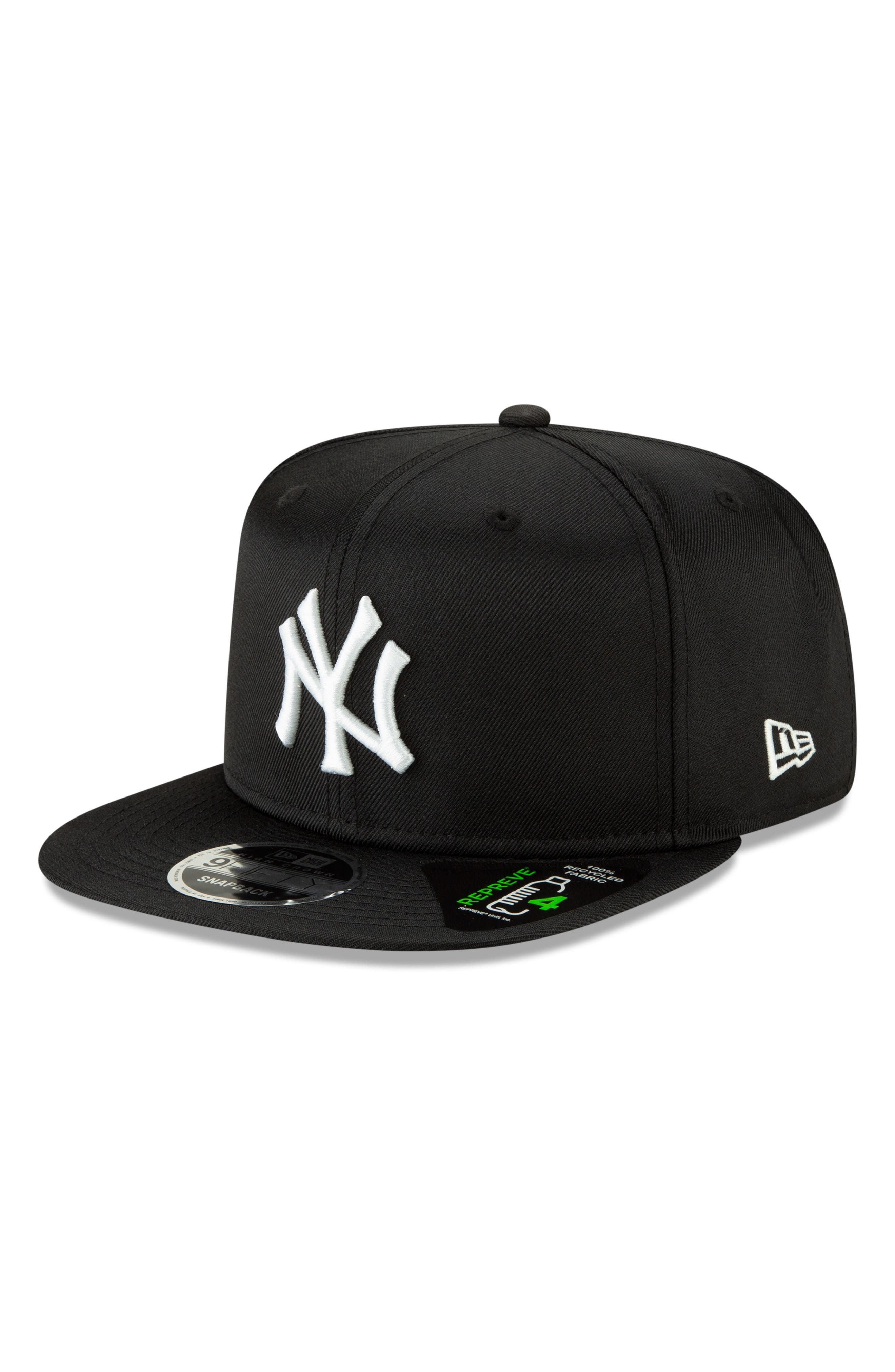 NEW ERA CAP, High Crown 9FIFTY Baseball Cap, Alternate thumbnail 4, color, YANKEES