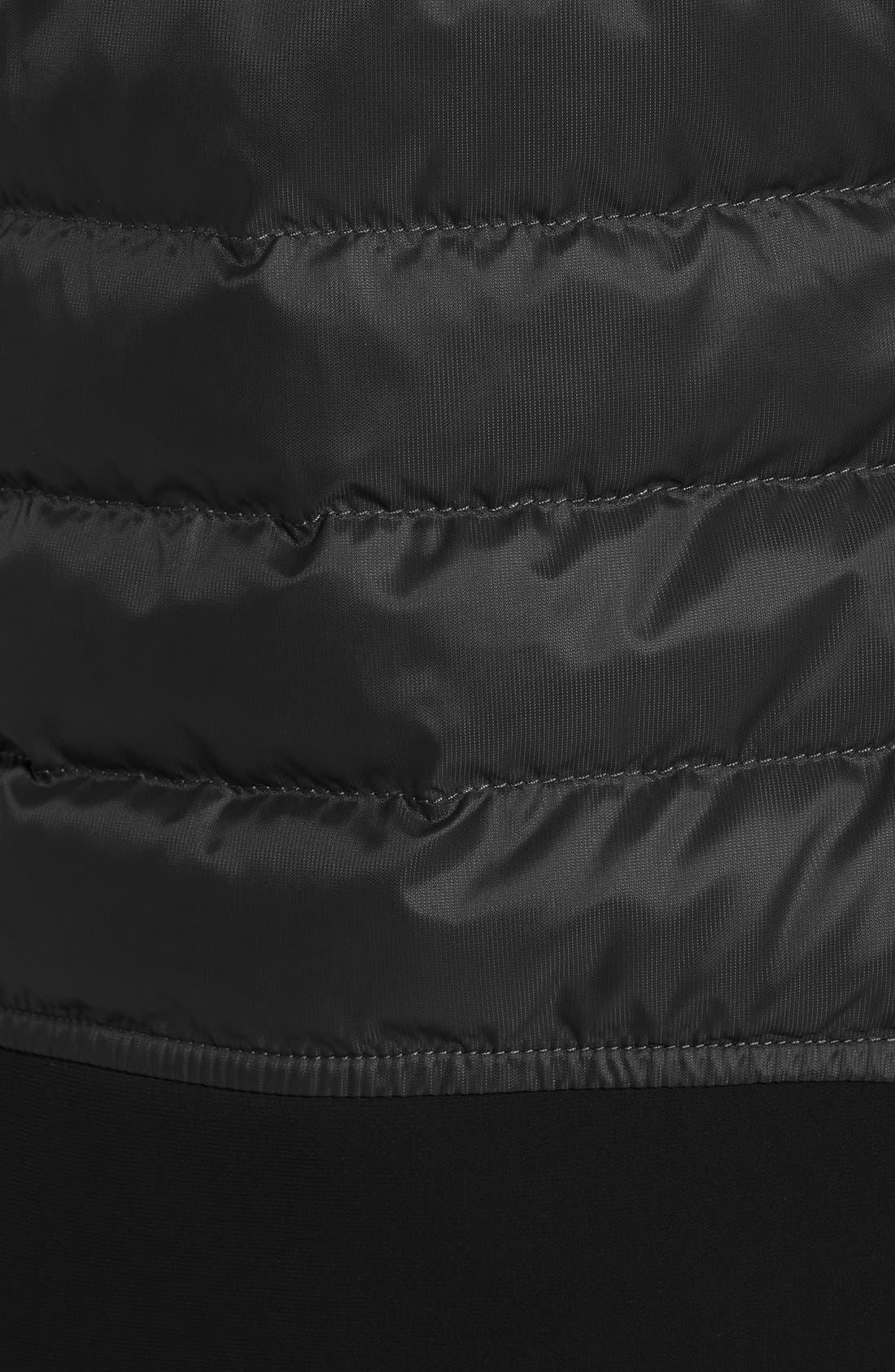 CANADA GOOSE, Hybridge Perren Jacket, Alternate thumbnail 4, color, BLACK