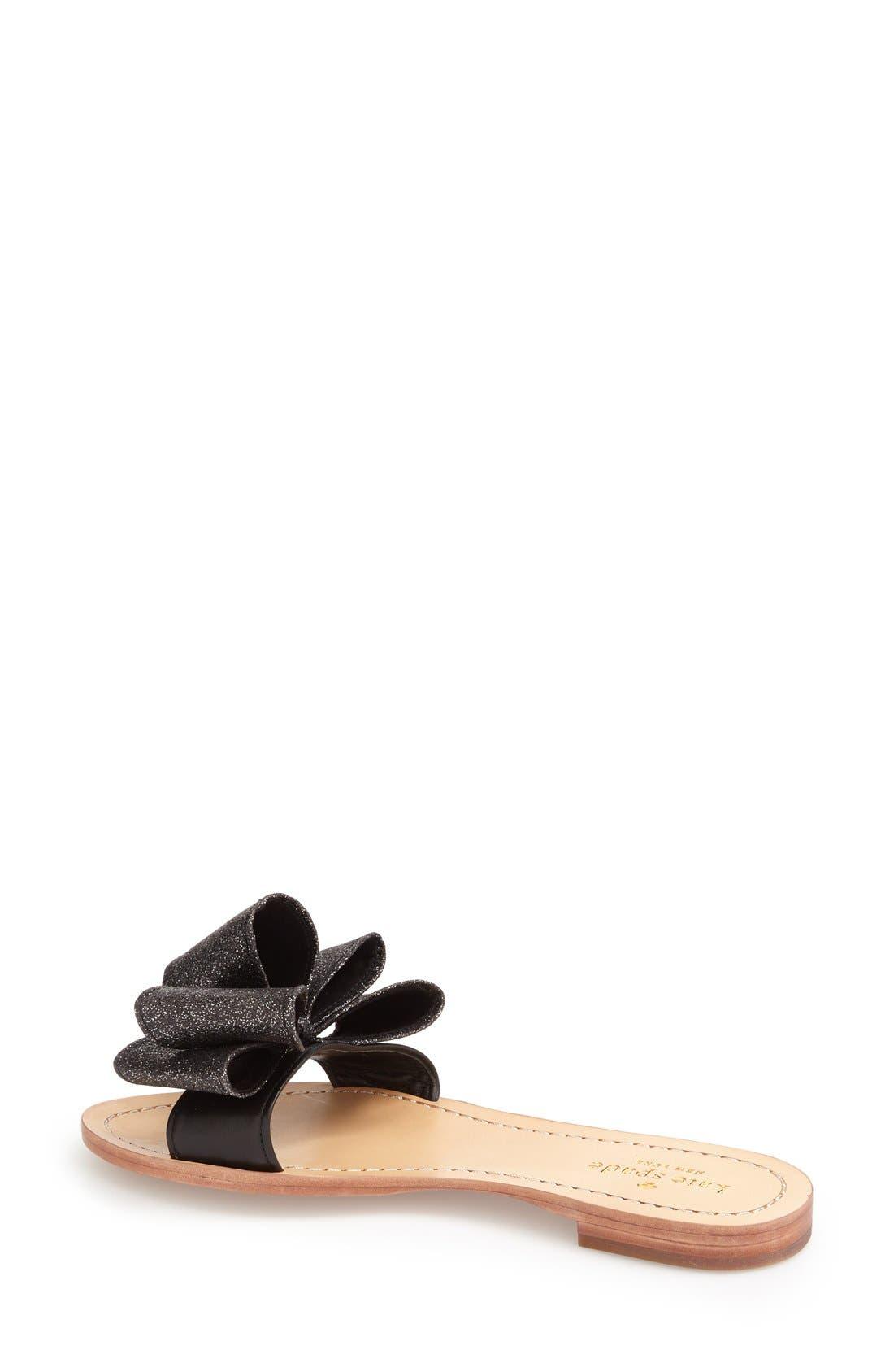 KATE SPADE NEW YORK, 'cicely' sandal, Alternate thumbnail 2, color, 006
