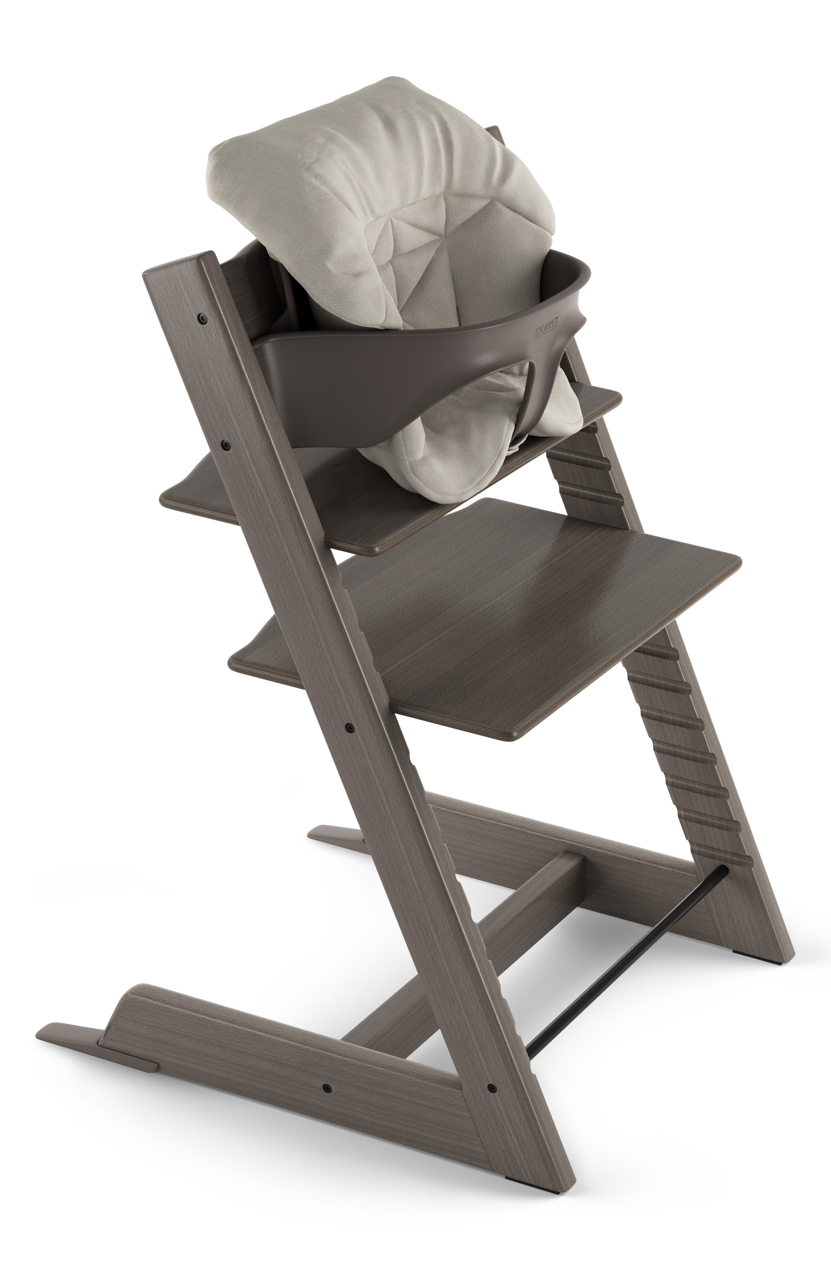 STOKKE  Seat Cushion for Tripp Trapp<sup>®</sup> Highchair, Main, color, TIMELESS GREY