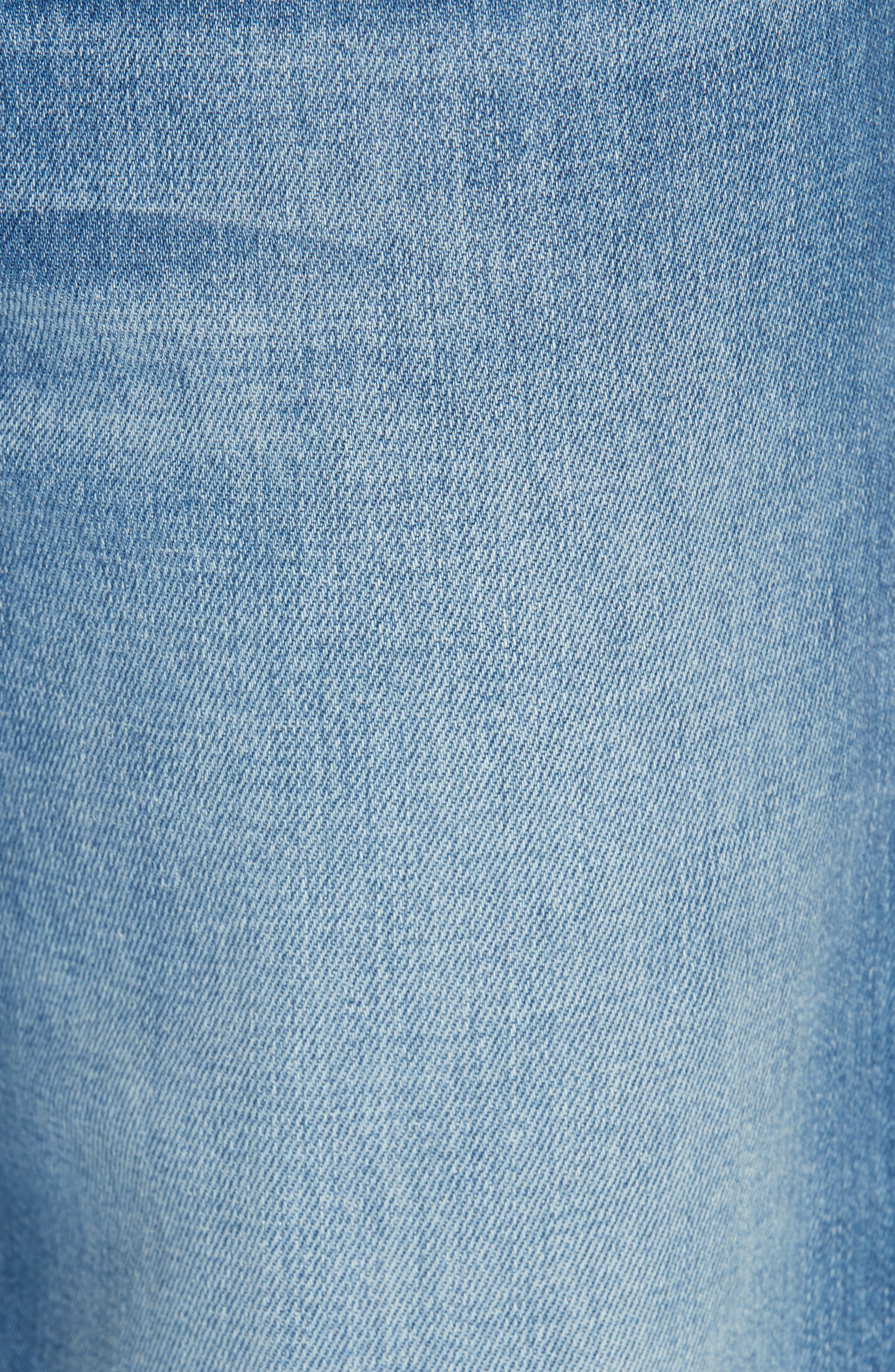 FRAME, Le Palazzo Snap Away Hem Wide Leg Jeans, Alternate thumbnail 5, color, 420