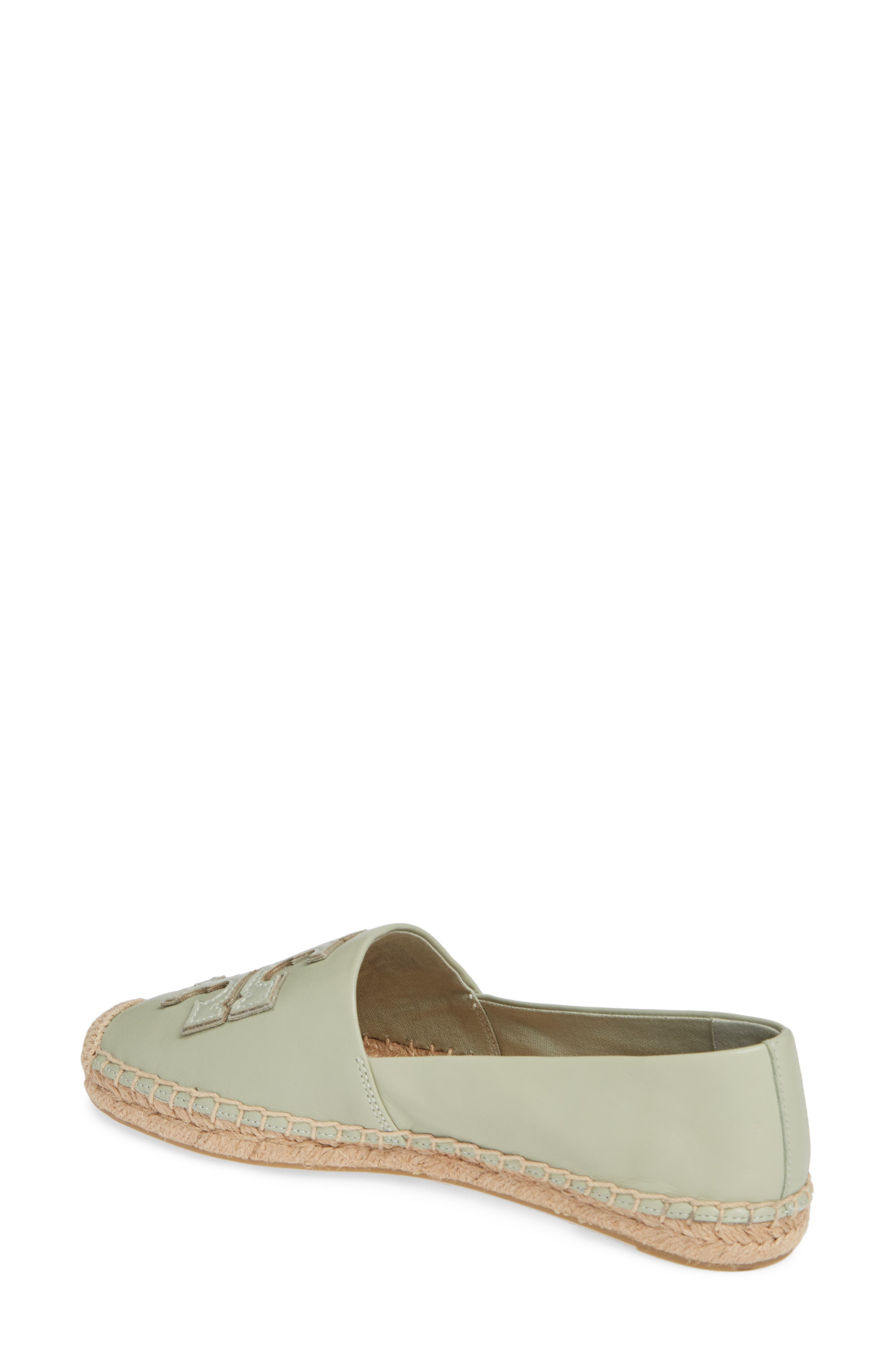 TORY BURCH, Ines Espadrille, Alternate thumbnail 2, color, GARDEN SAGE / SILVER