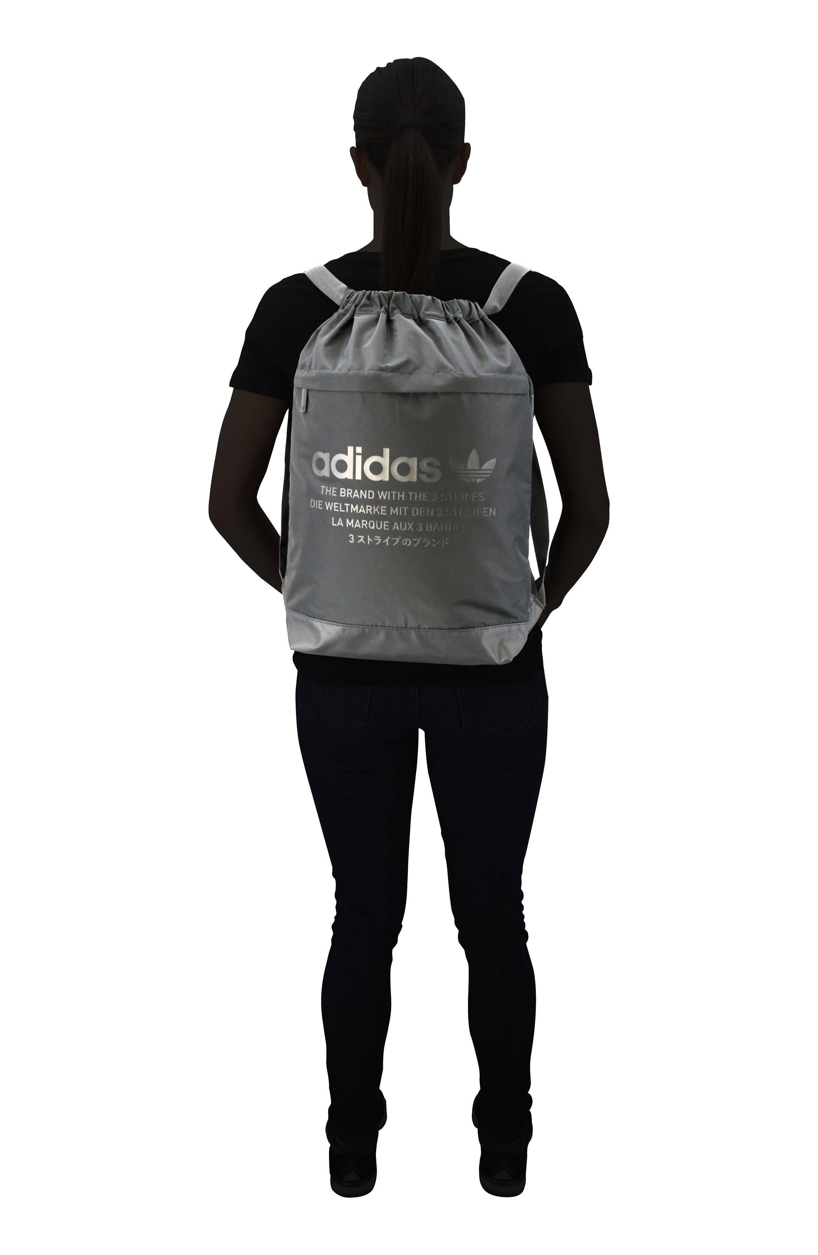 ADIDAS ORIGINALS, NMD Sack Pack, Alternate thumbnail 4, color, 001