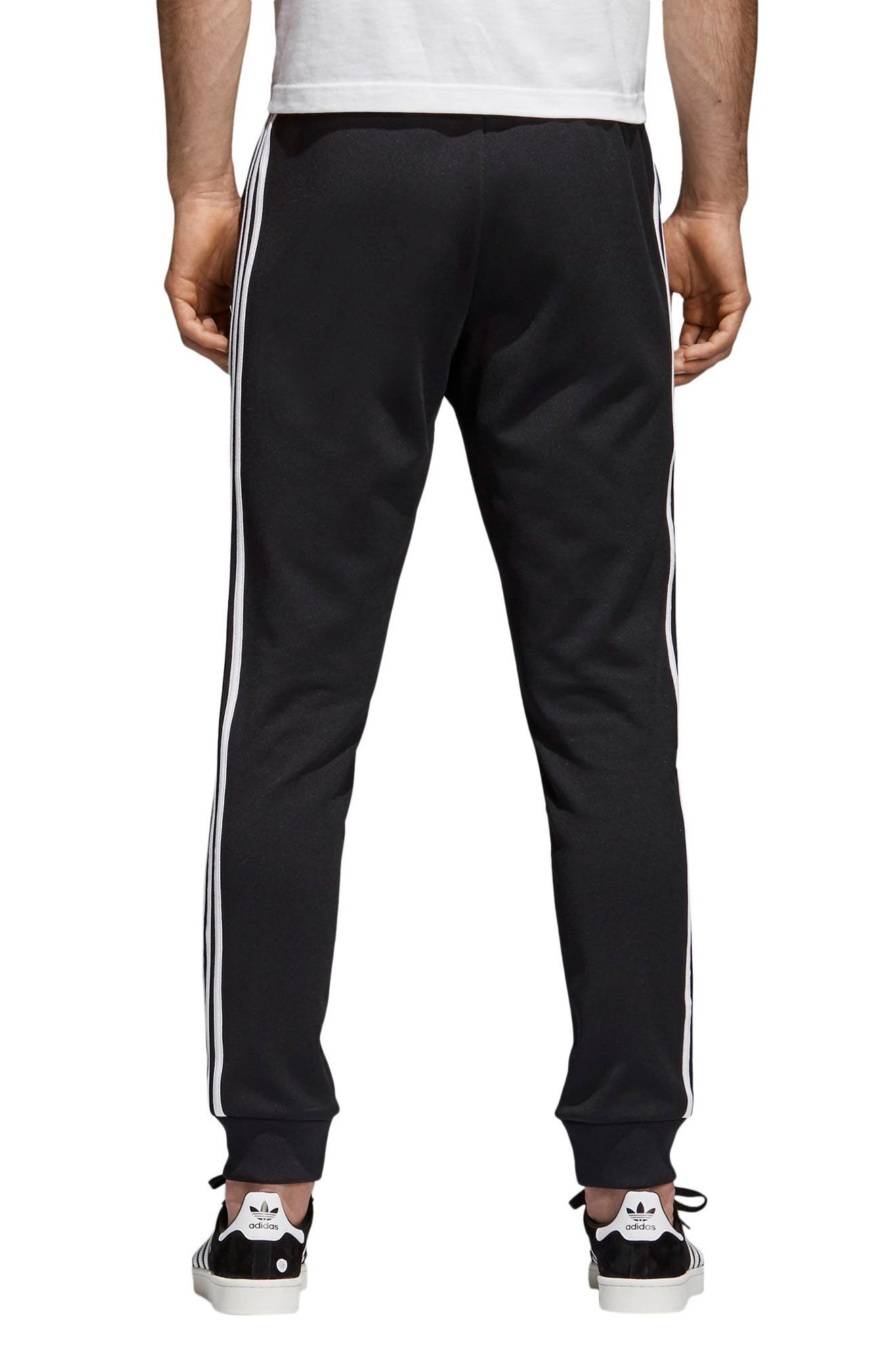 ADIDAS ORIGINALS, Track Pants, Alternate thumbnail 2, color, BLACK
