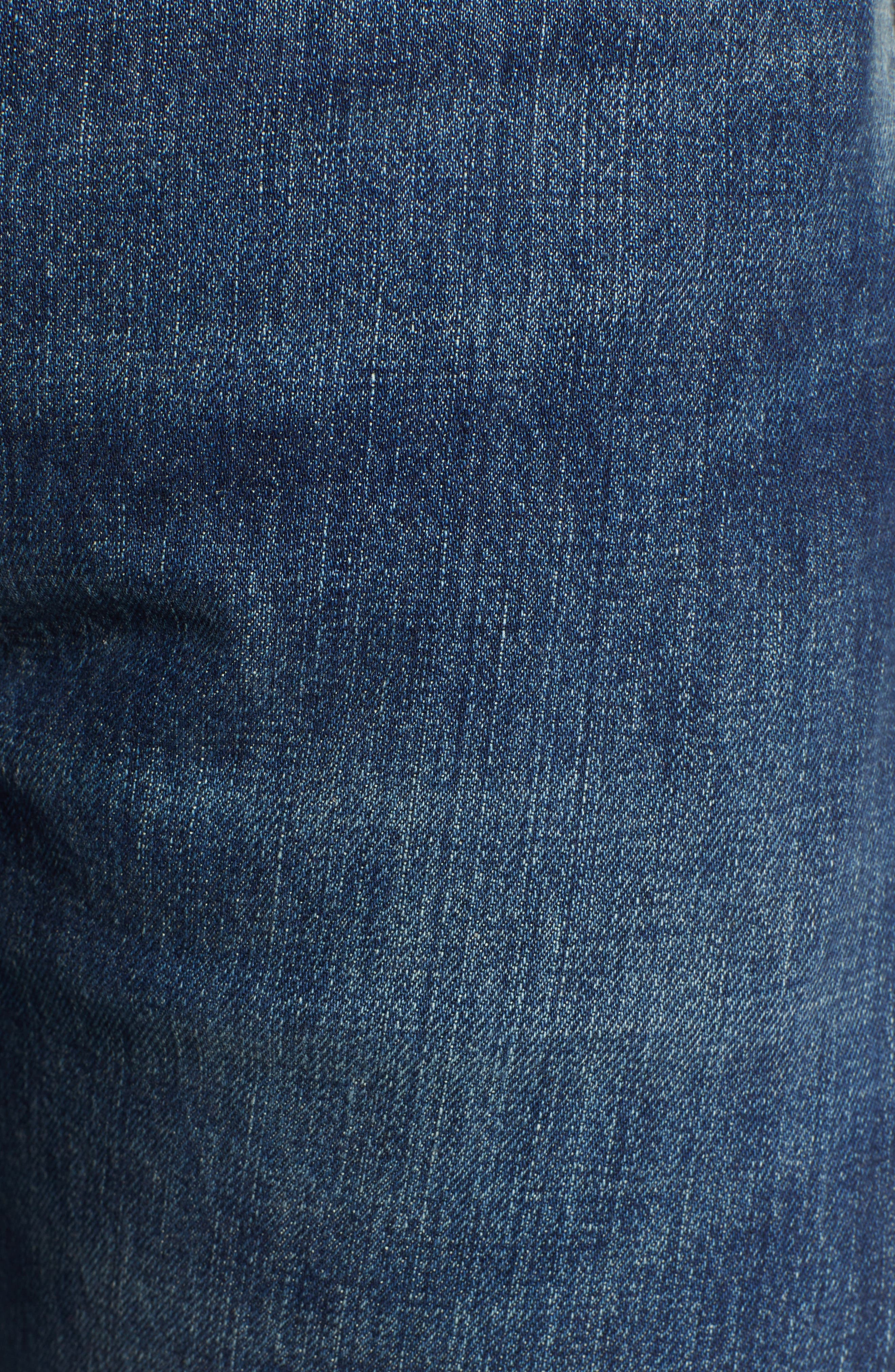LEVI'S<SUP>®</SUP> VINTAGE CLOTHING, 1947 501<sup>®</sup> Straight Leg Jeans, Alternate thumbnail 5, color, 402