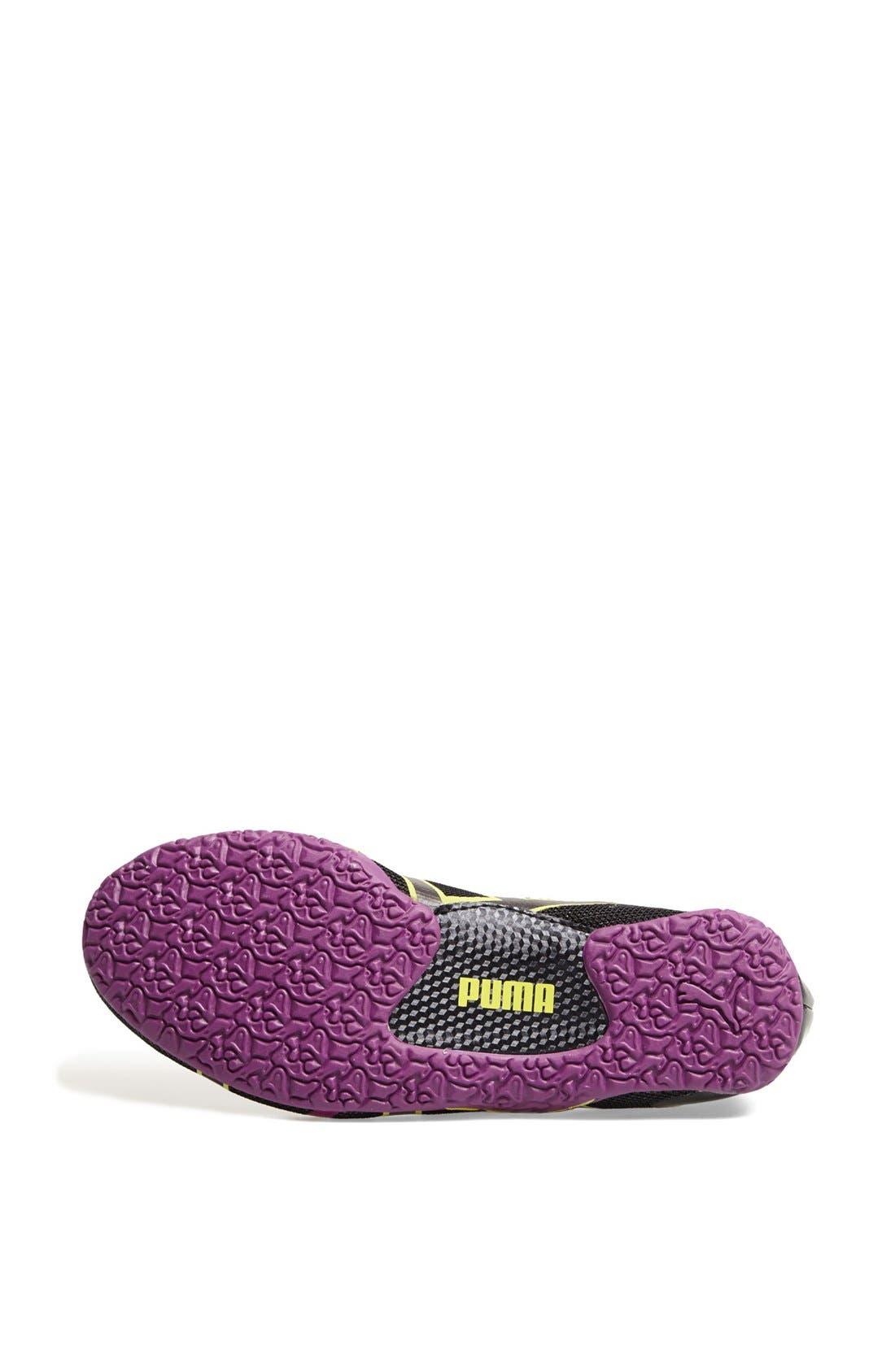 PUMA, 'Anaida' Foldable Sneaker, Alternate thumbnail 4, color, 001