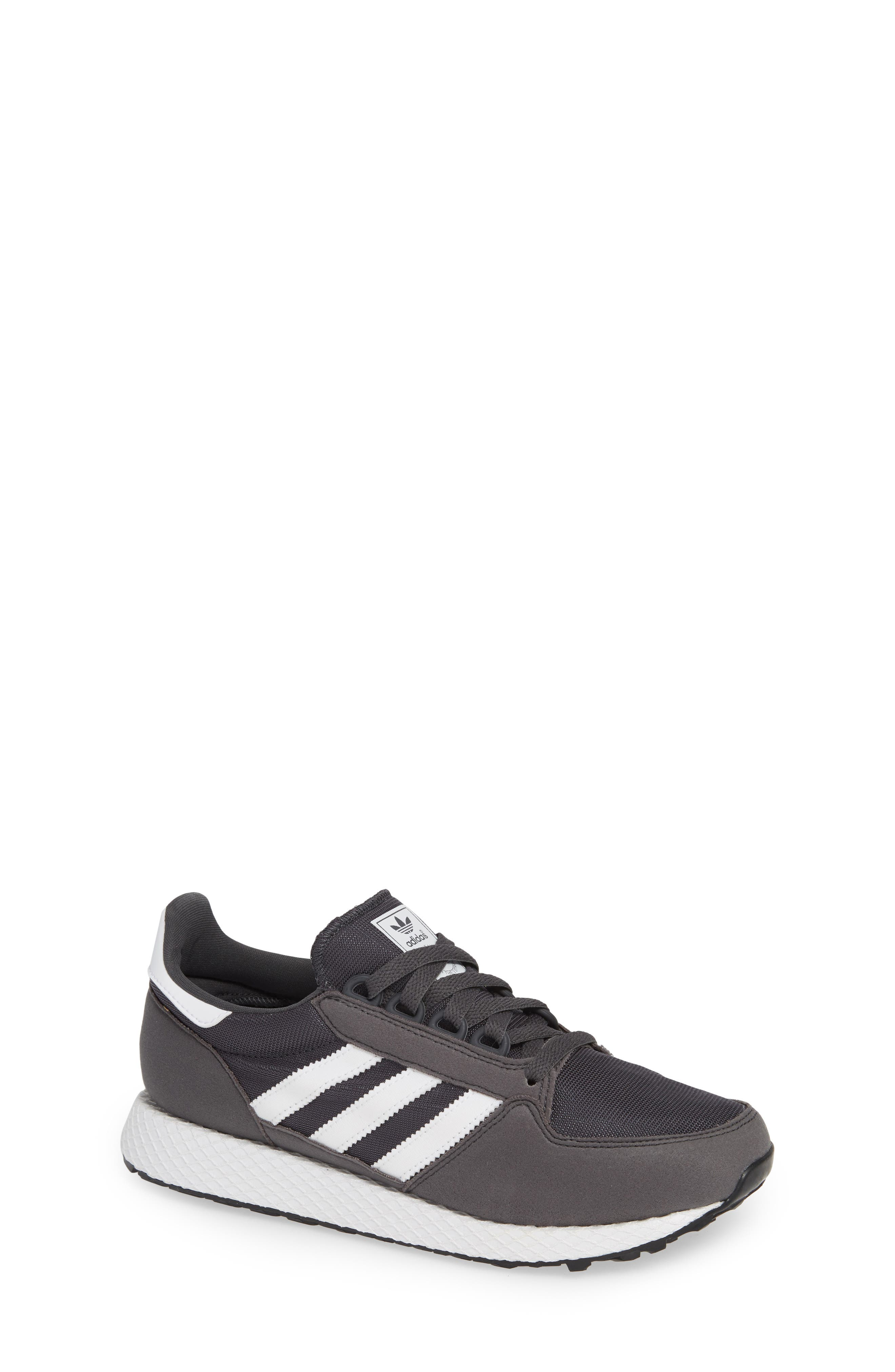 ADIDAS, Forest Grove Sneaker, Main thumbnail 1, color, GREY SIX/ WHITE/ GREY SIX
