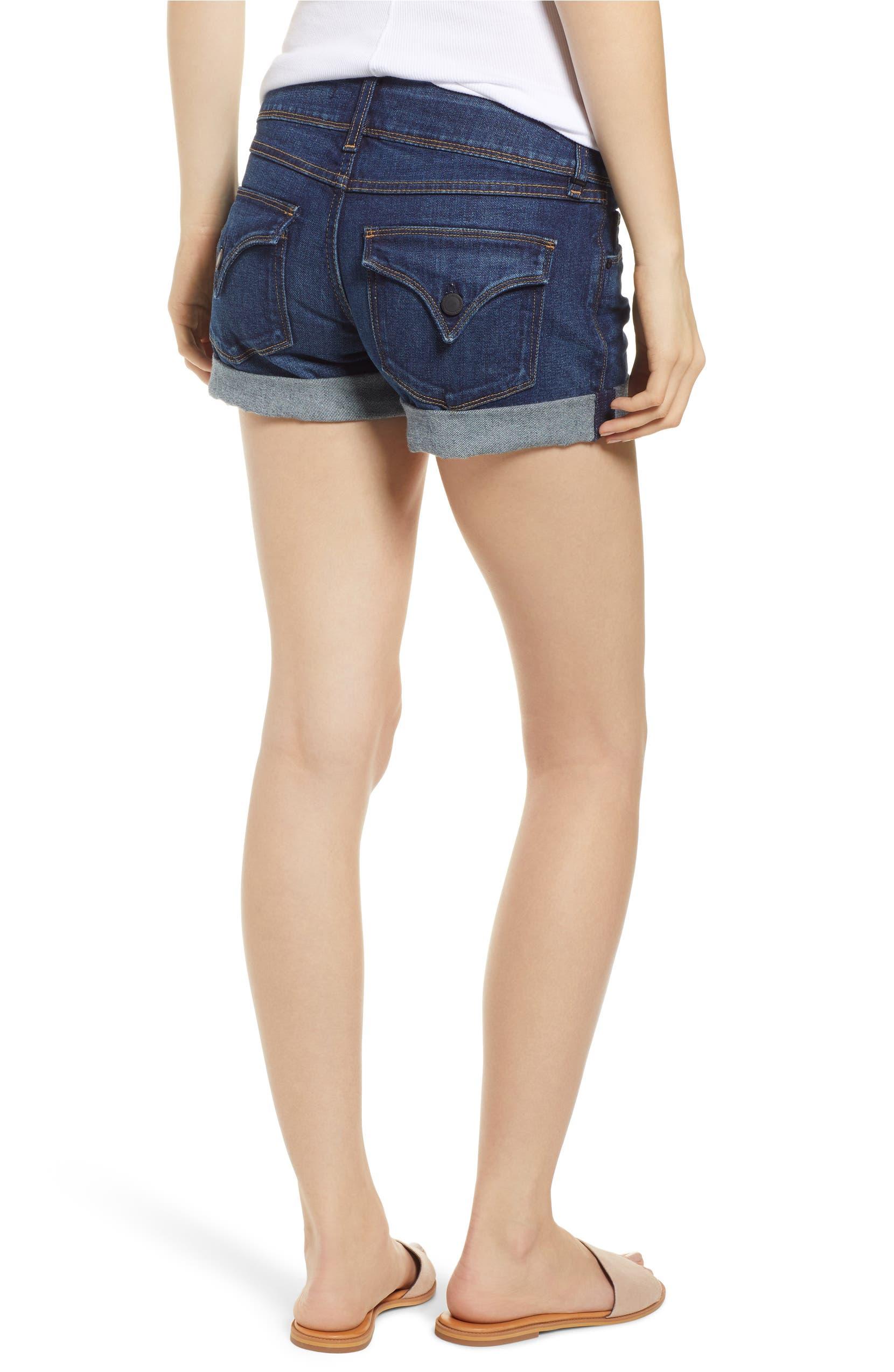 f9772b8beb Hudson Jeans Croxley Cuffed Denim Shorts (Nightfall) | Nordstrom