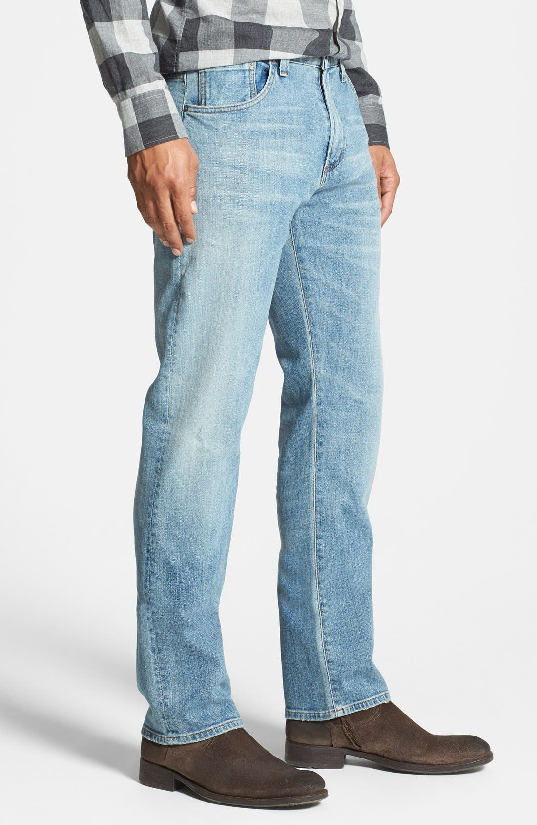 CITIZENS OF HUMANITY, 'Core' Slim Straight Leg Jeans, Alternate thumbnail 2, color, 458
