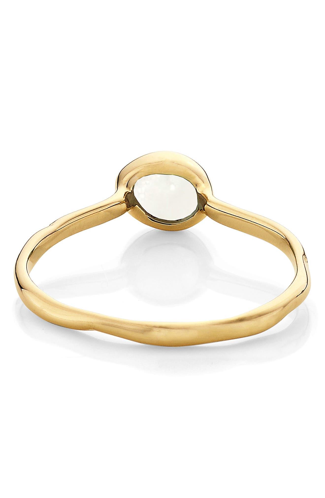 MONICA VINADER, Siren Small Semiprecious Stone Stacking Ring, Alternate thumbnail 3, color, GOLD/ MOONSTONE