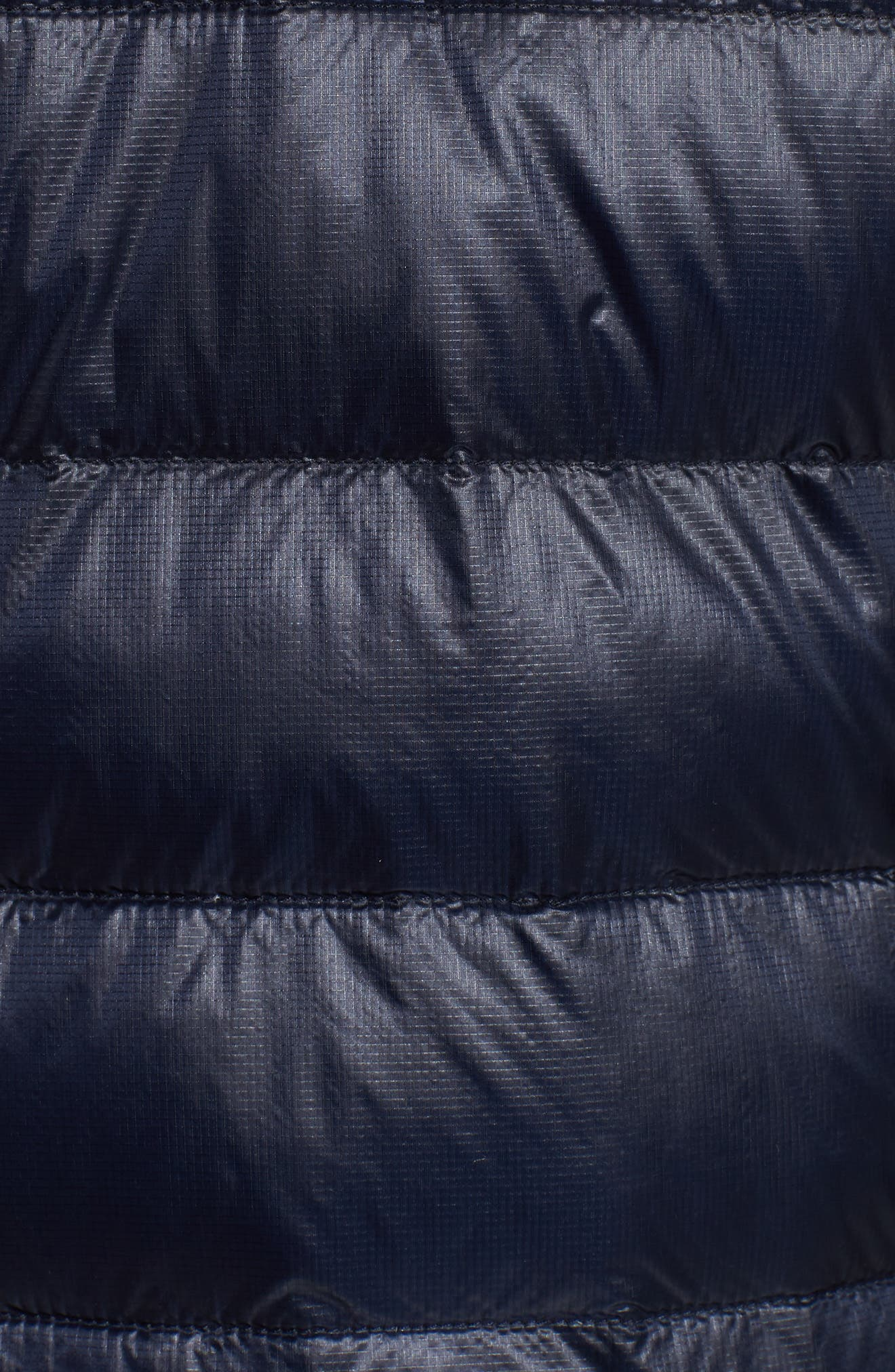 CANADA GOOSE, 'Hybridge<sup>™</sup> Lite Hoody' Slim Fit Packable Jacket, Alternate thumbnail 6, color, ADMIRAL BLUE/ BLACK
