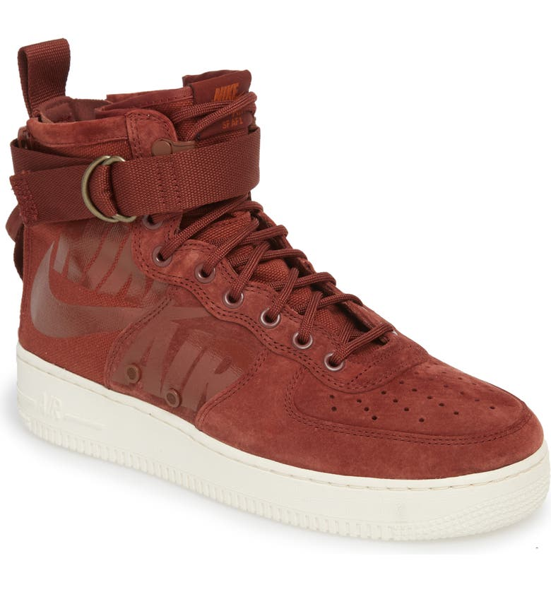 low priced 64642 fe53c NIKE SF Air Force 1 Mid Sneaker, Main, color, 202