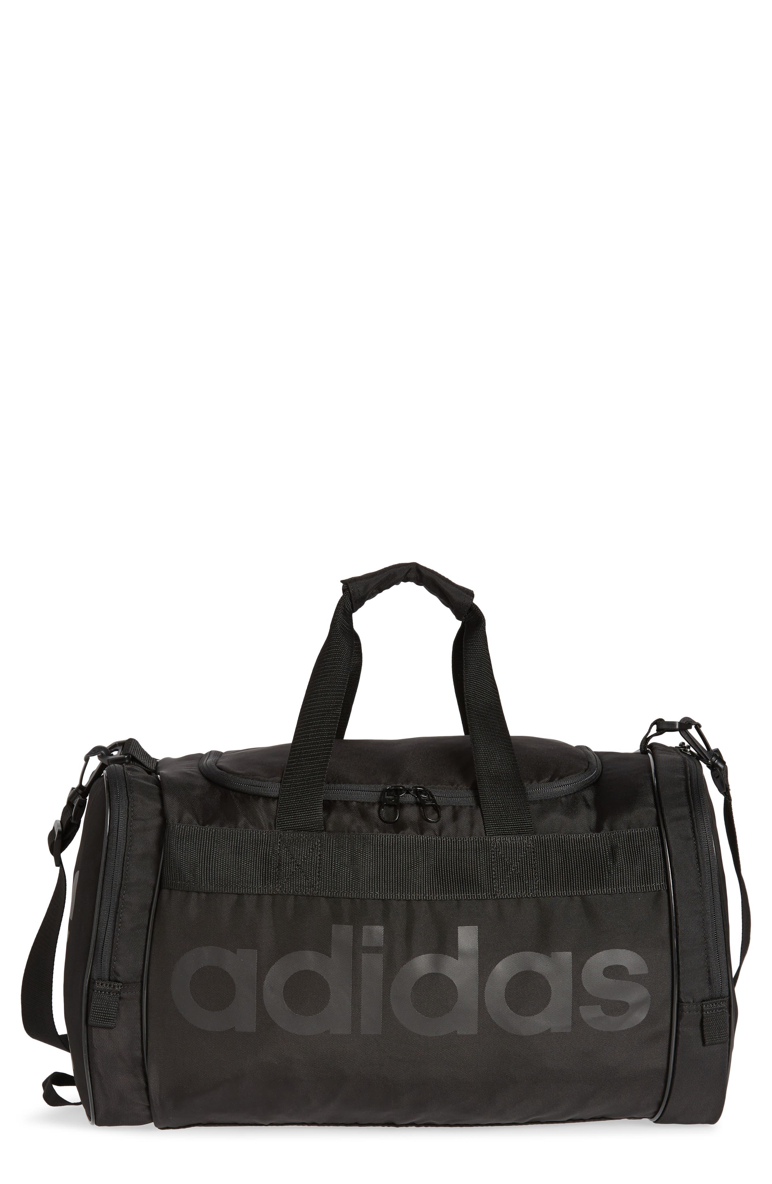 ADIDAS ORIGINALS Santiago Duffel Bag, Main, color, 001