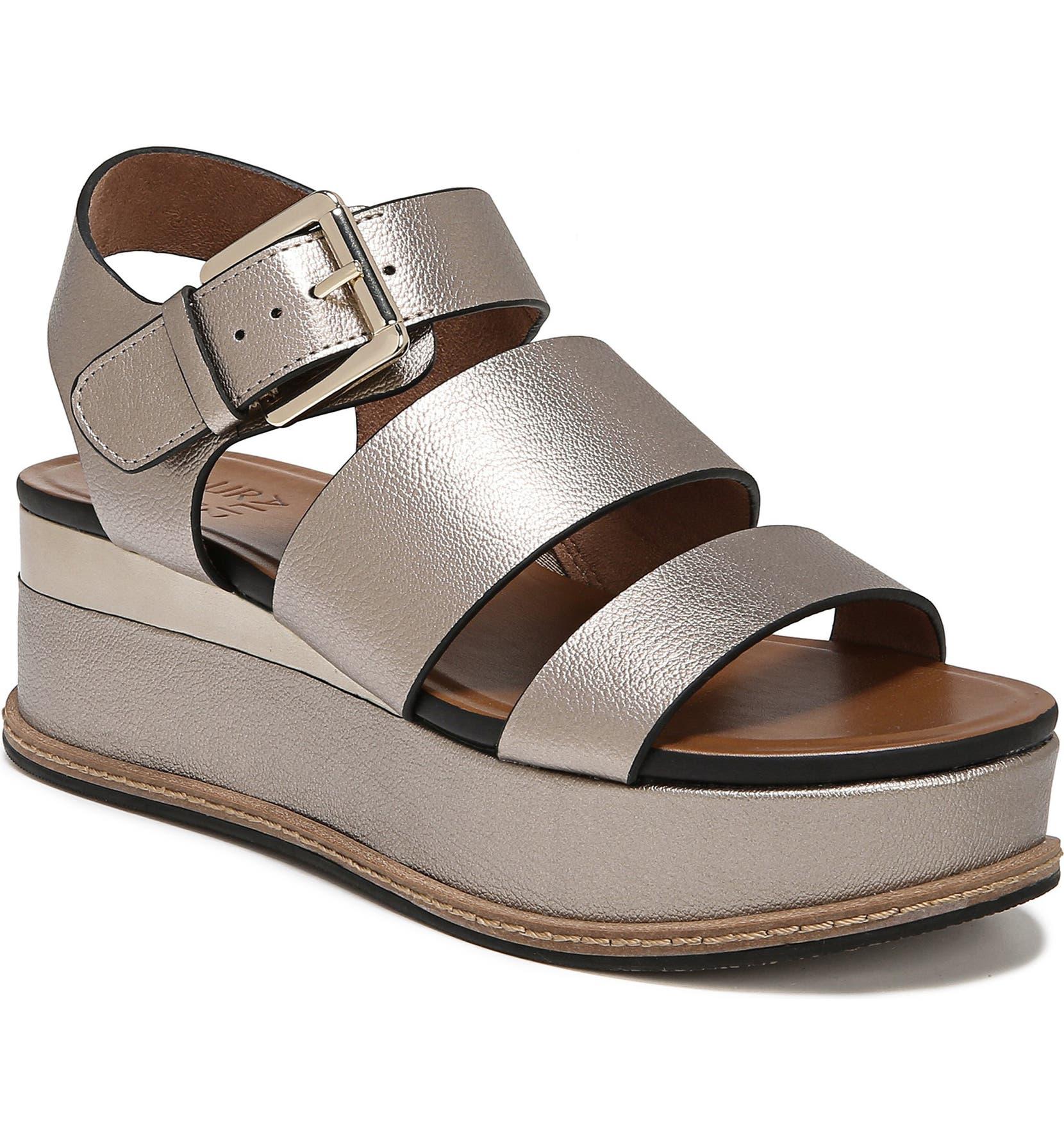 2b04f4cd661 Naturalizer Billie Platform Sandal (Women)