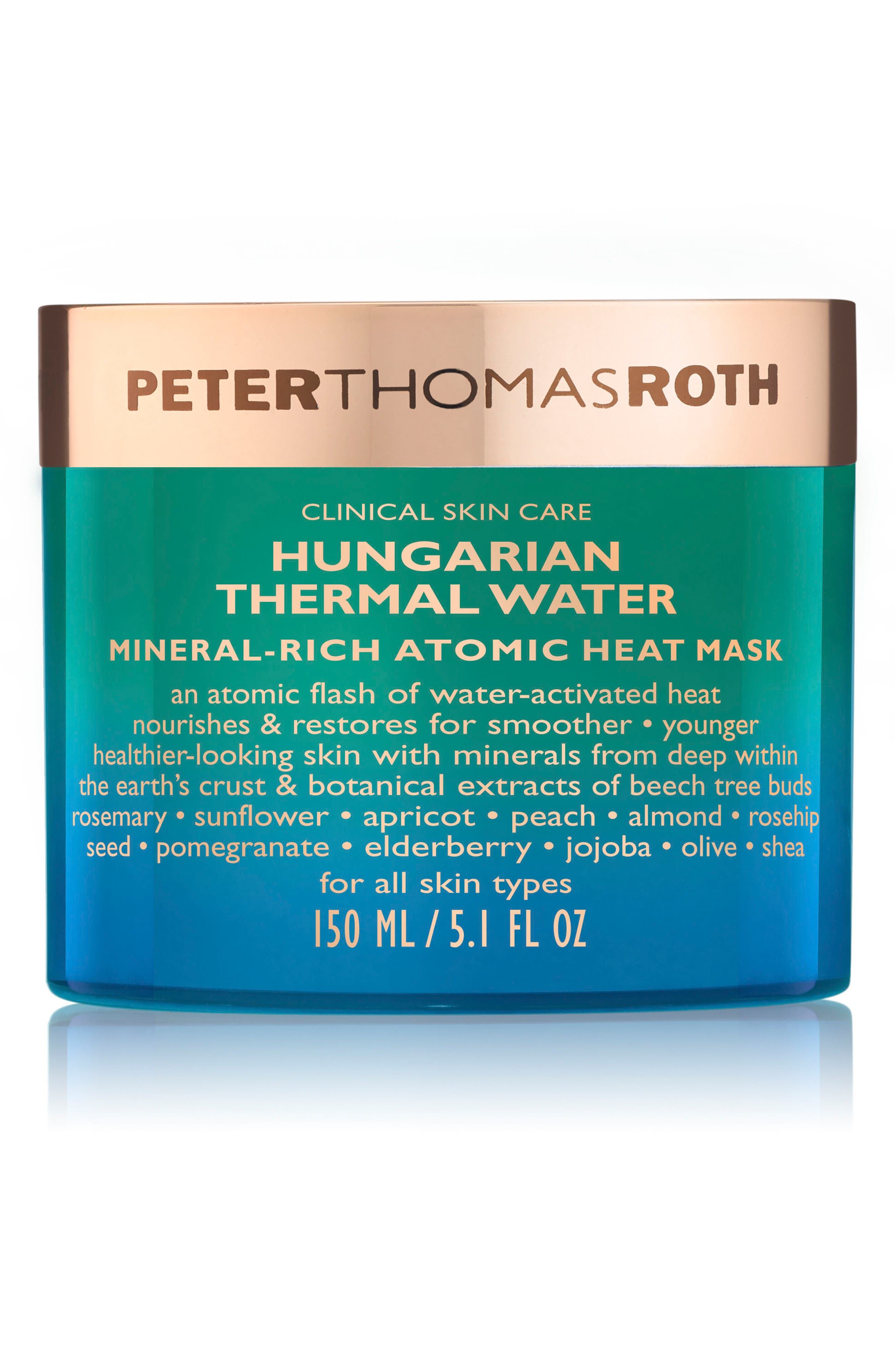 PETER THOMAS ROTH, Hungarian Mineral Heat Mask, Main thumbnail 1, color, NO COLOR