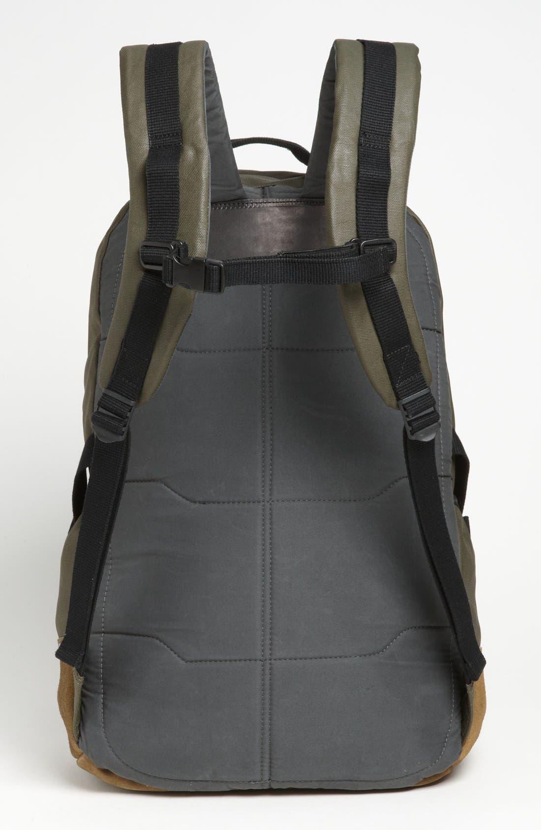 RAG & BONE, Canvas Backpack, Alternate thumbnail 2, color, 352