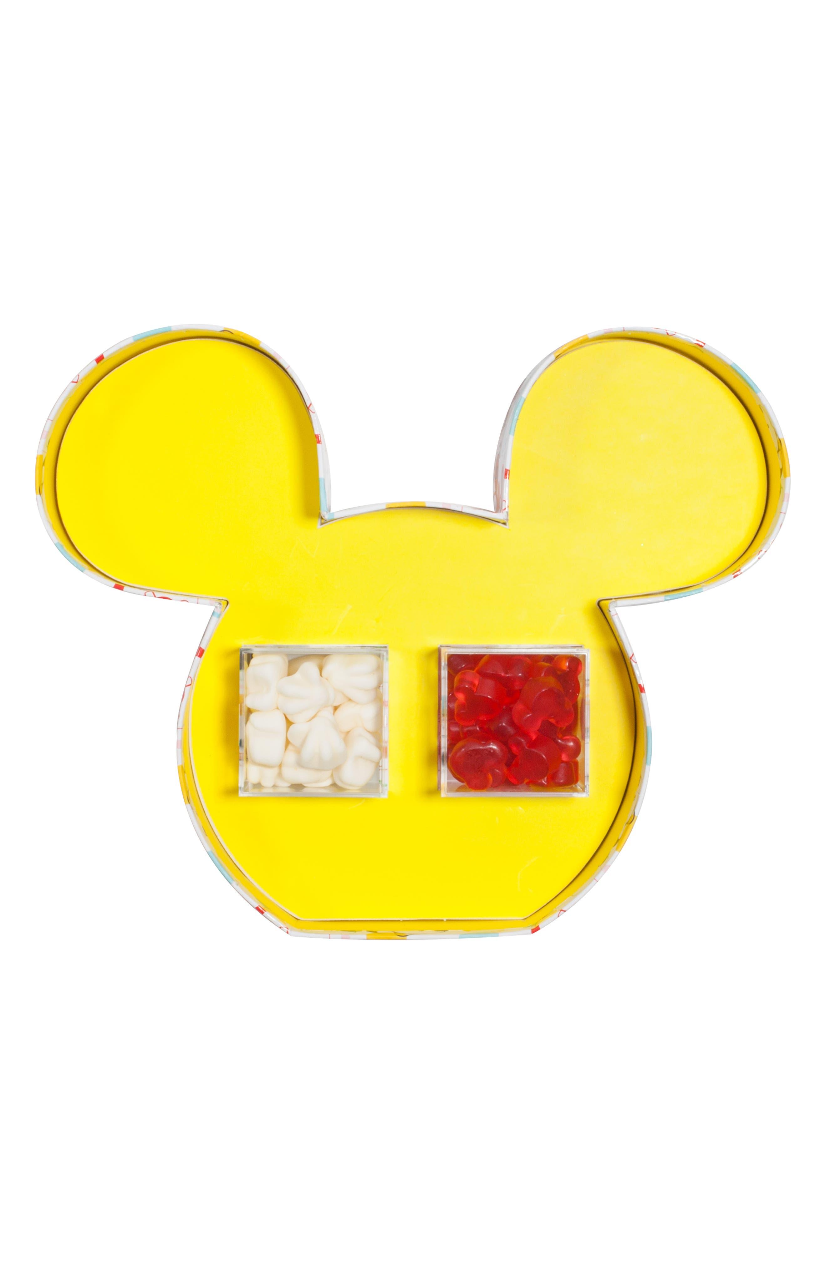 SUGARFINA, x Disney Mickey Ears 2-Piece Bento Box, Alternate thumbnail 5, color, 100