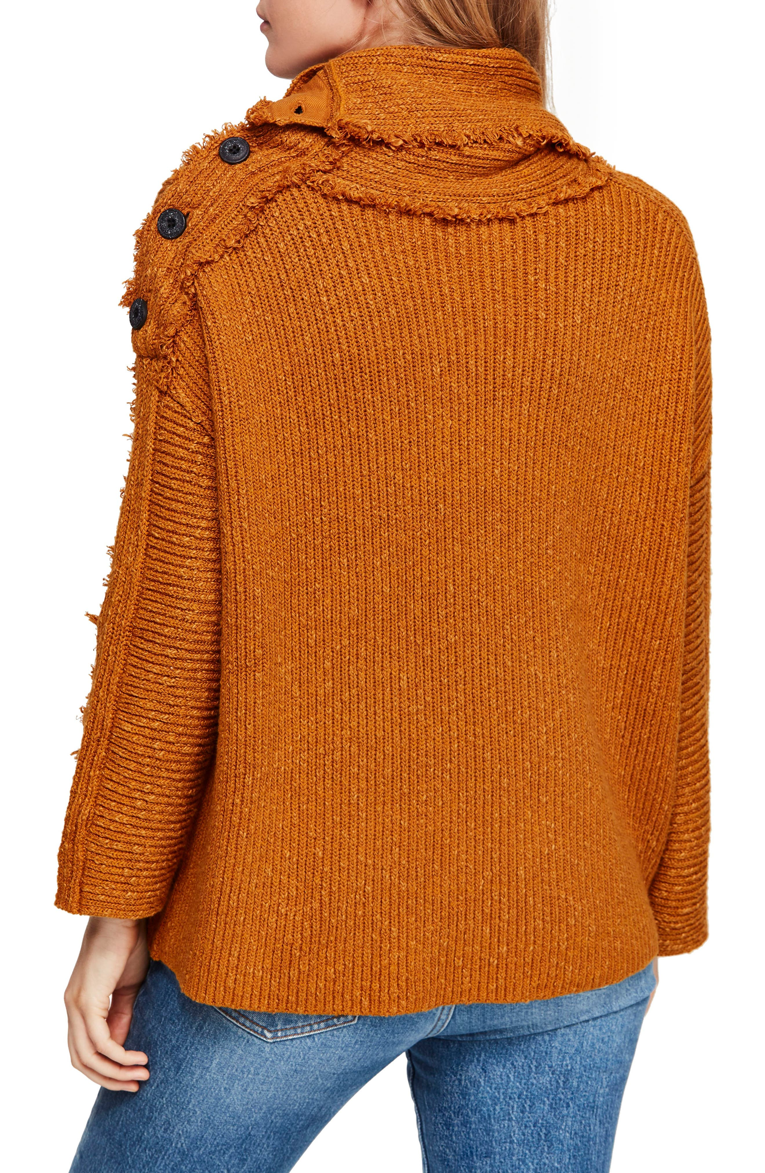 FREE PEOPLE, On My Side Turtleneck Sweater, Alternate thumbnail 2, color, 710
