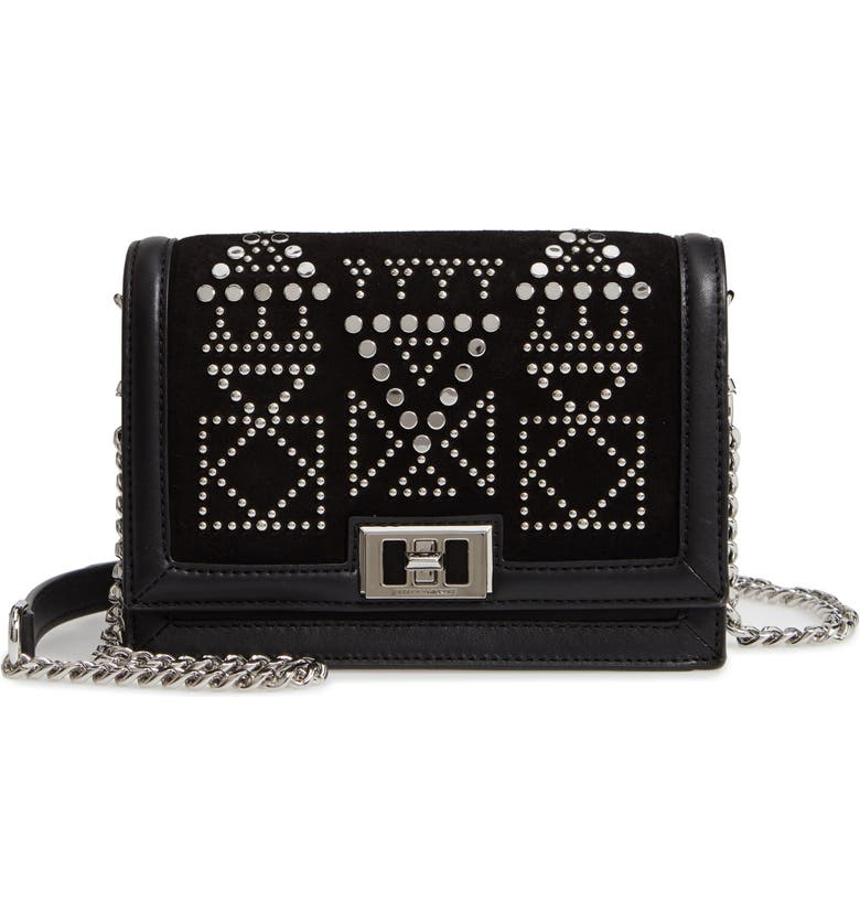 676ca1a118e Rebecca Minkoff Small Dylan Studded Leather Crossbody Bag