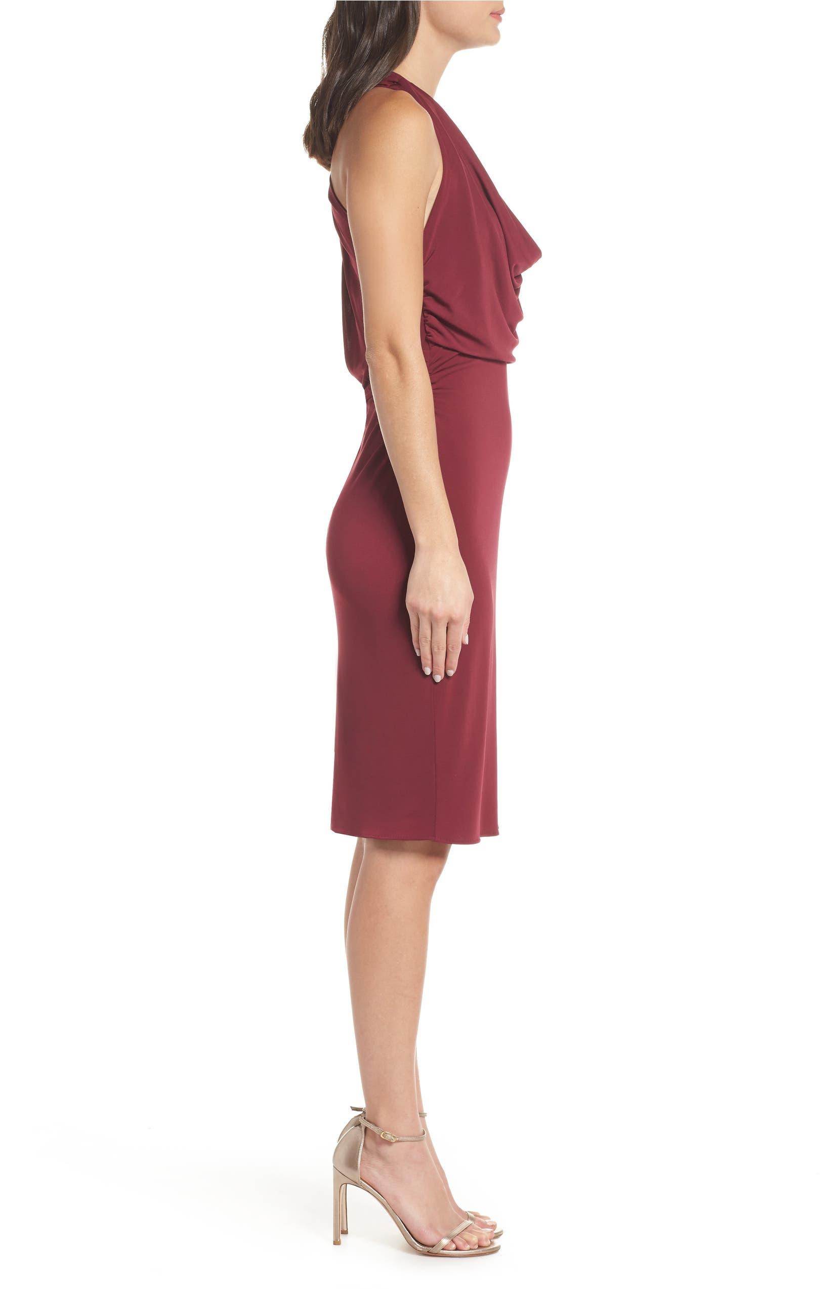 f8cc5d02c1085 Maria Bianca Nero Elise Cowl Neck Sleeveless Dress