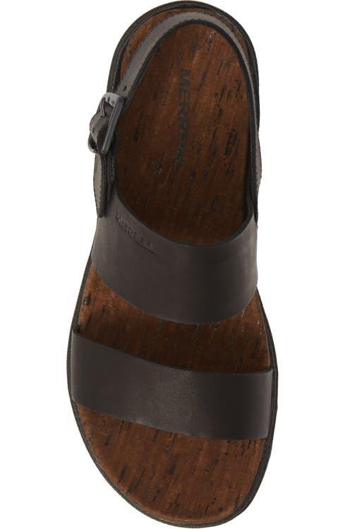 0ec36ac2aeb3 Merrell Around Town Luxe Backstrap Sandal (Women)