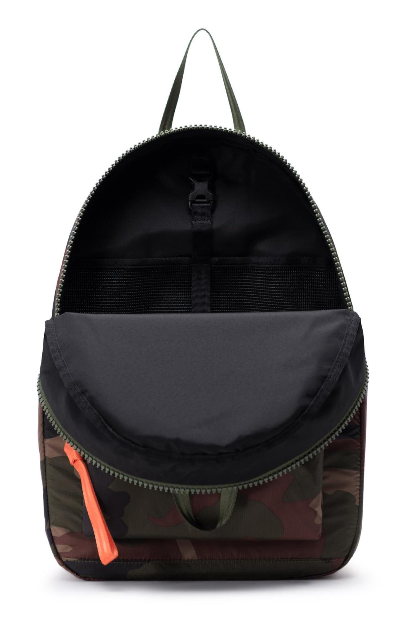 HERSCHEL SUPPLY CO., HS6 Studio Collection Backpack, Alternate thumbnail 3, color, WOODLAND CAMO