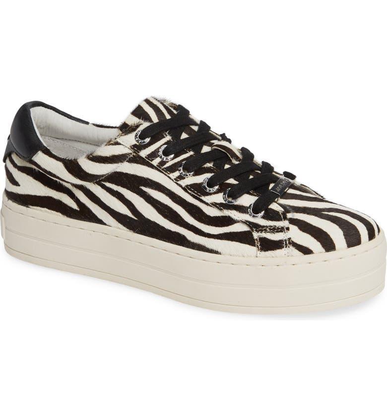 9b12ae50b77 JSlides Hippie Genuine Calf Hair Platform Sneaker (Women)