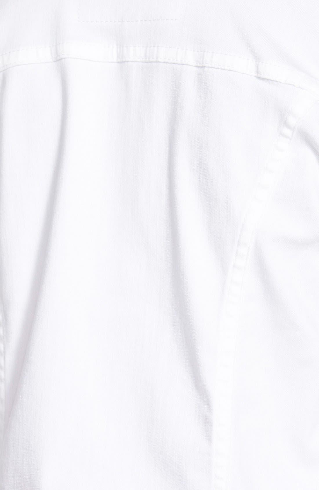 AG, 'Robyn' Denim Jacket, Alternate thumbnail 9, color, WHITE
