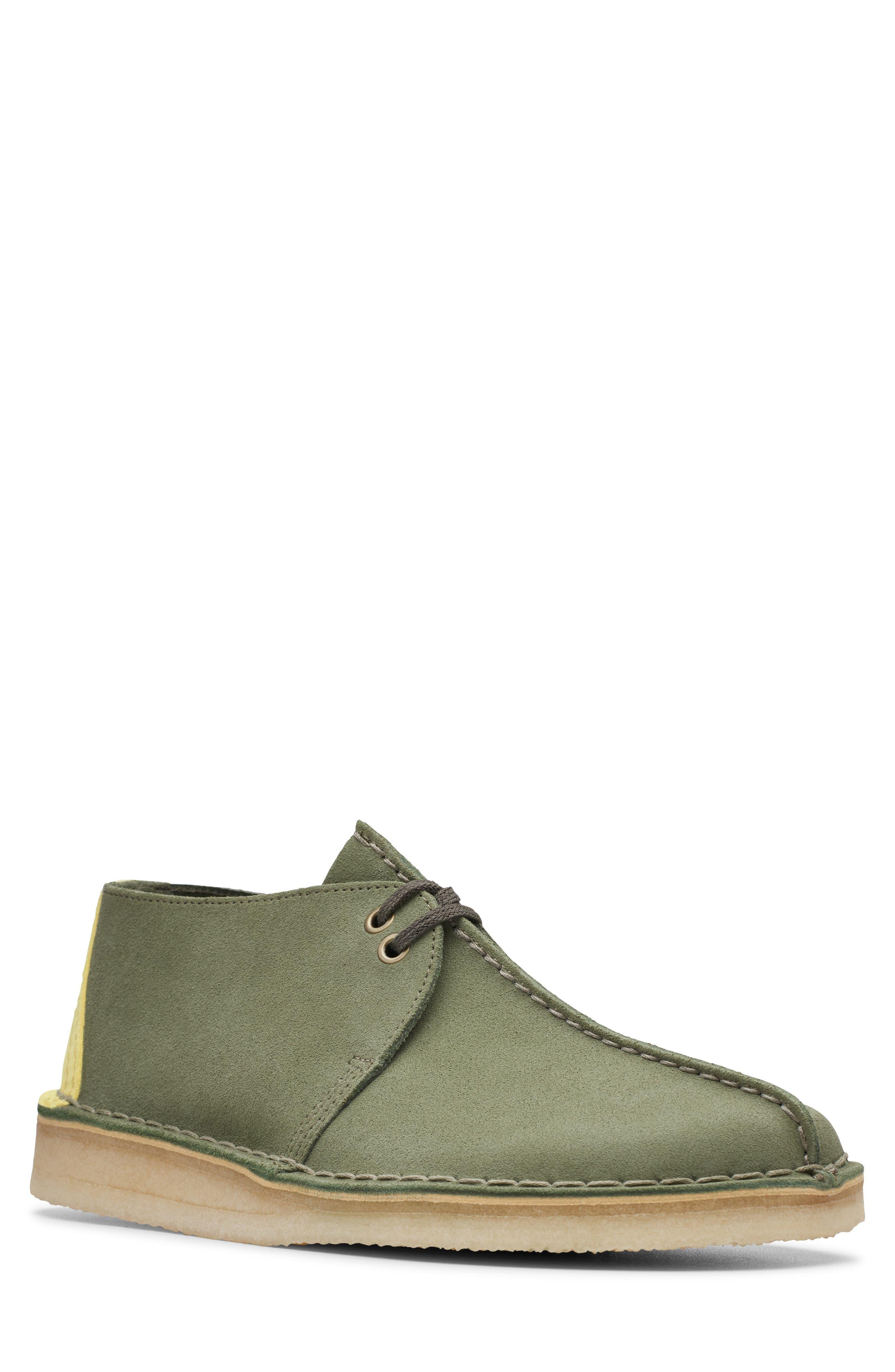 Clarks Desert Trek Chukka Boot- Green