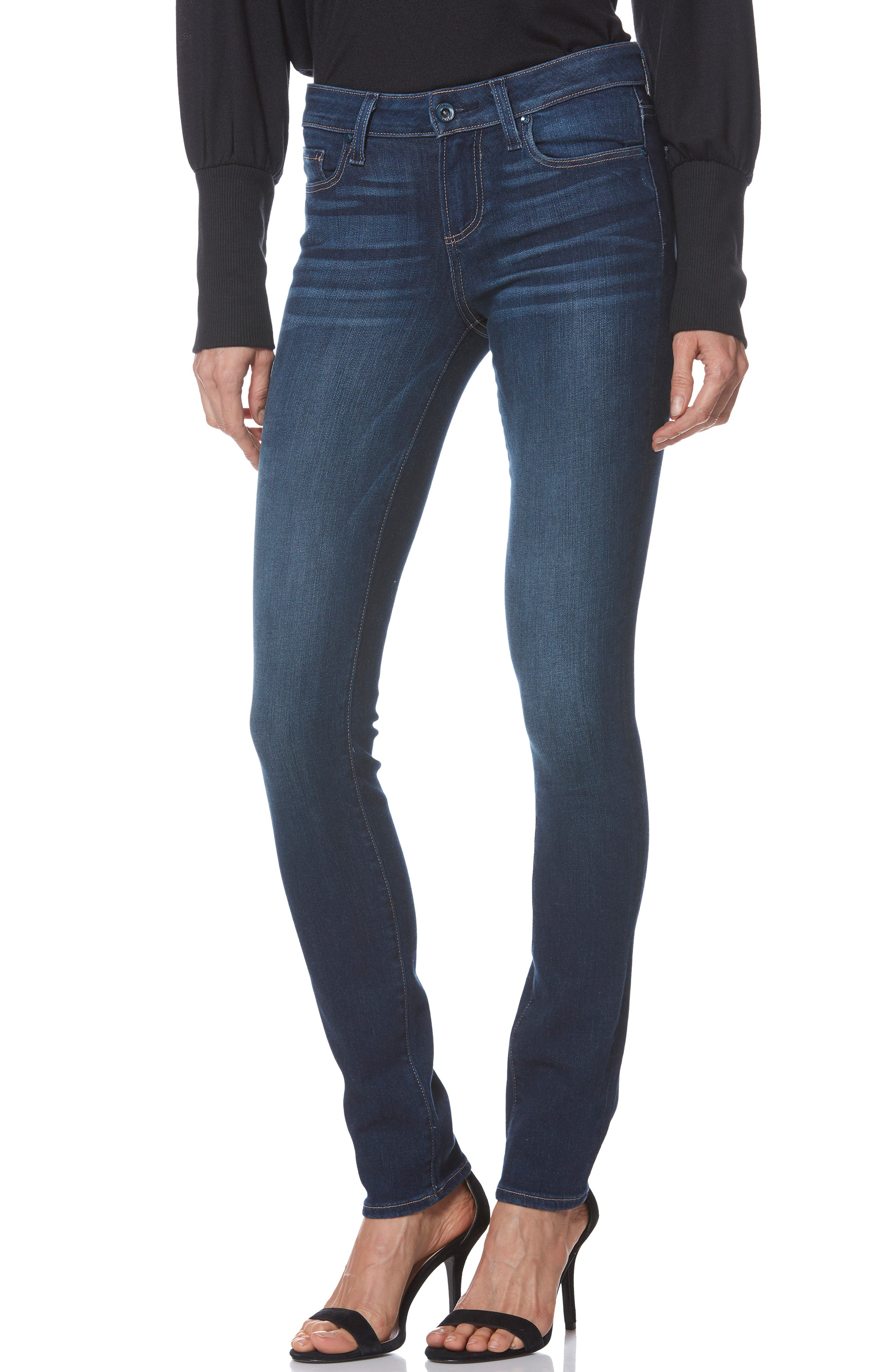 PAIGE Skyline Skinny Jeans, Main, color, IDLEWILD