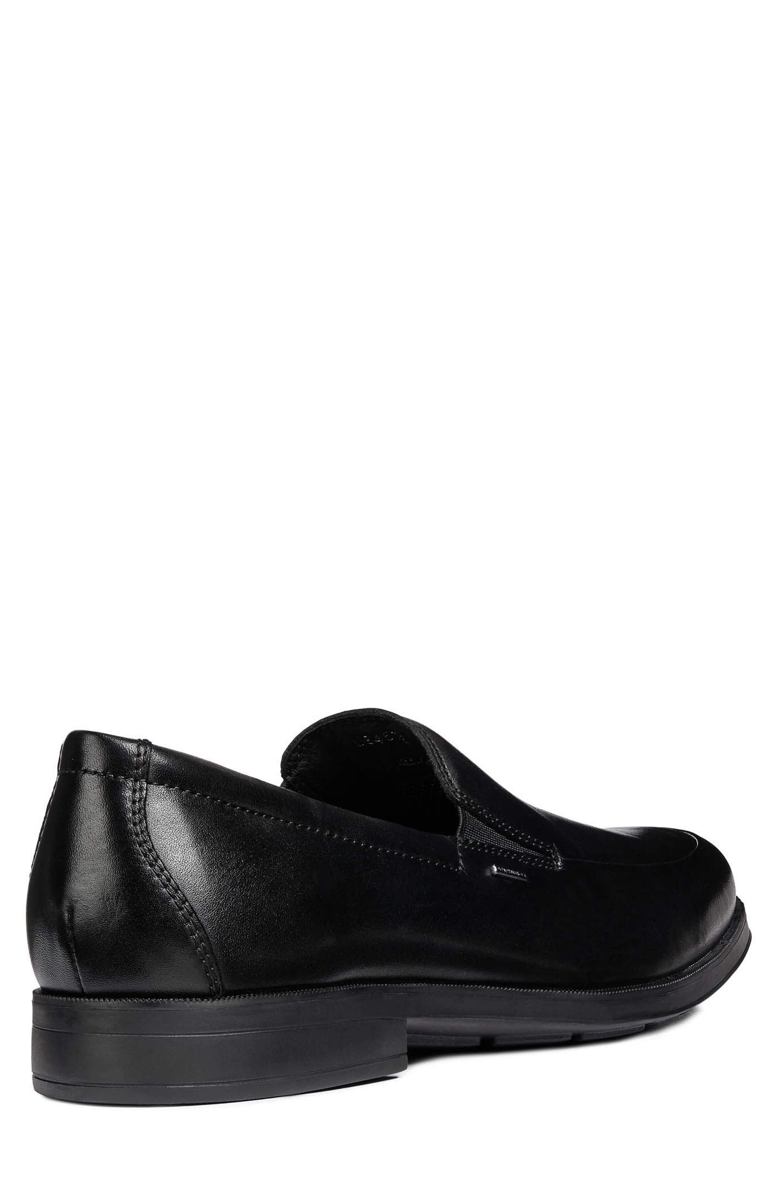 GEOX, Hilstone ABX 2 Loafer, Alternate thumbnail 2, color, 001