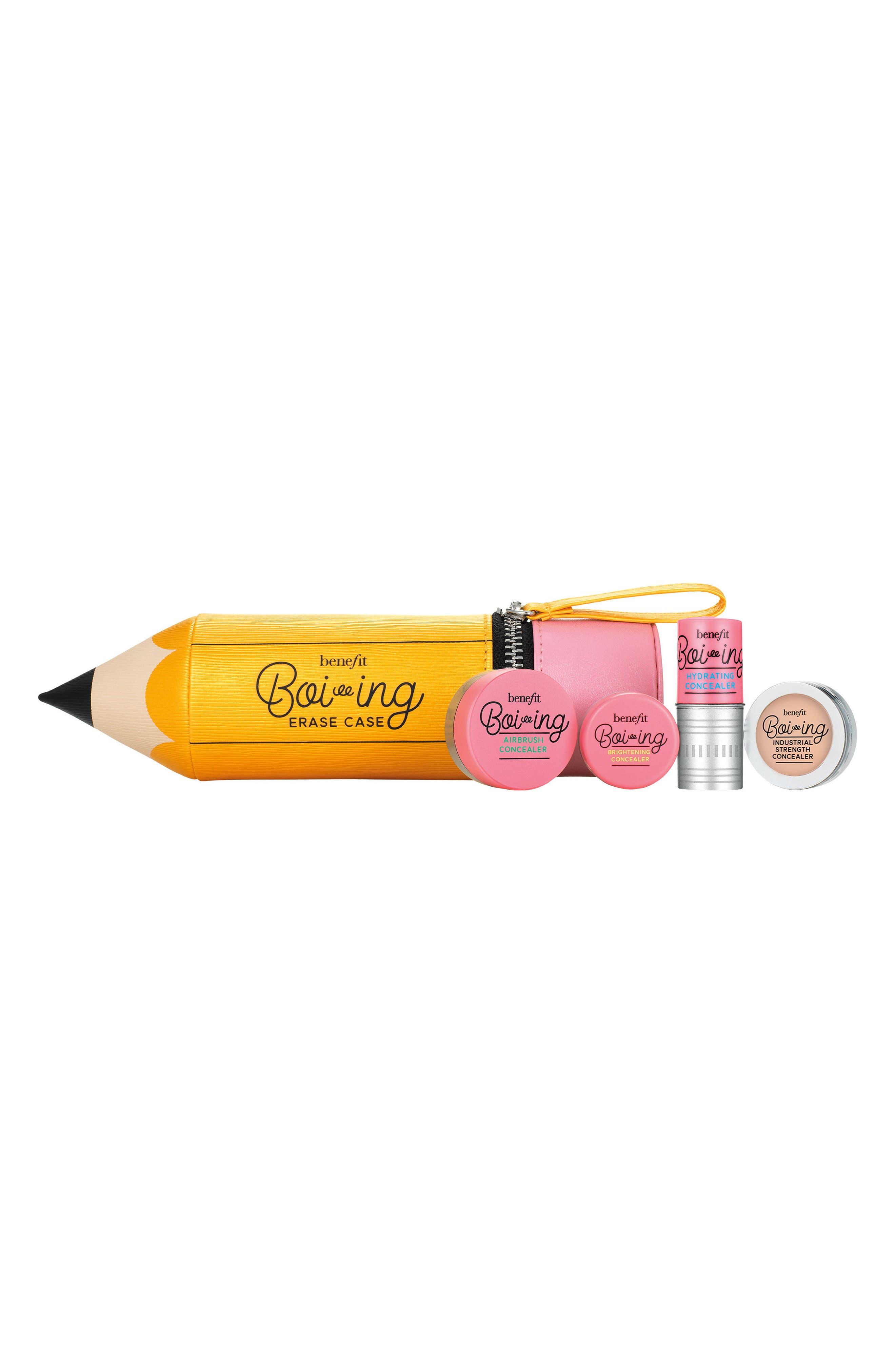 BENEFIT COSMETICS Benefit Erase Case Boi-ing Concealer Kit, Main, color, LIGHT