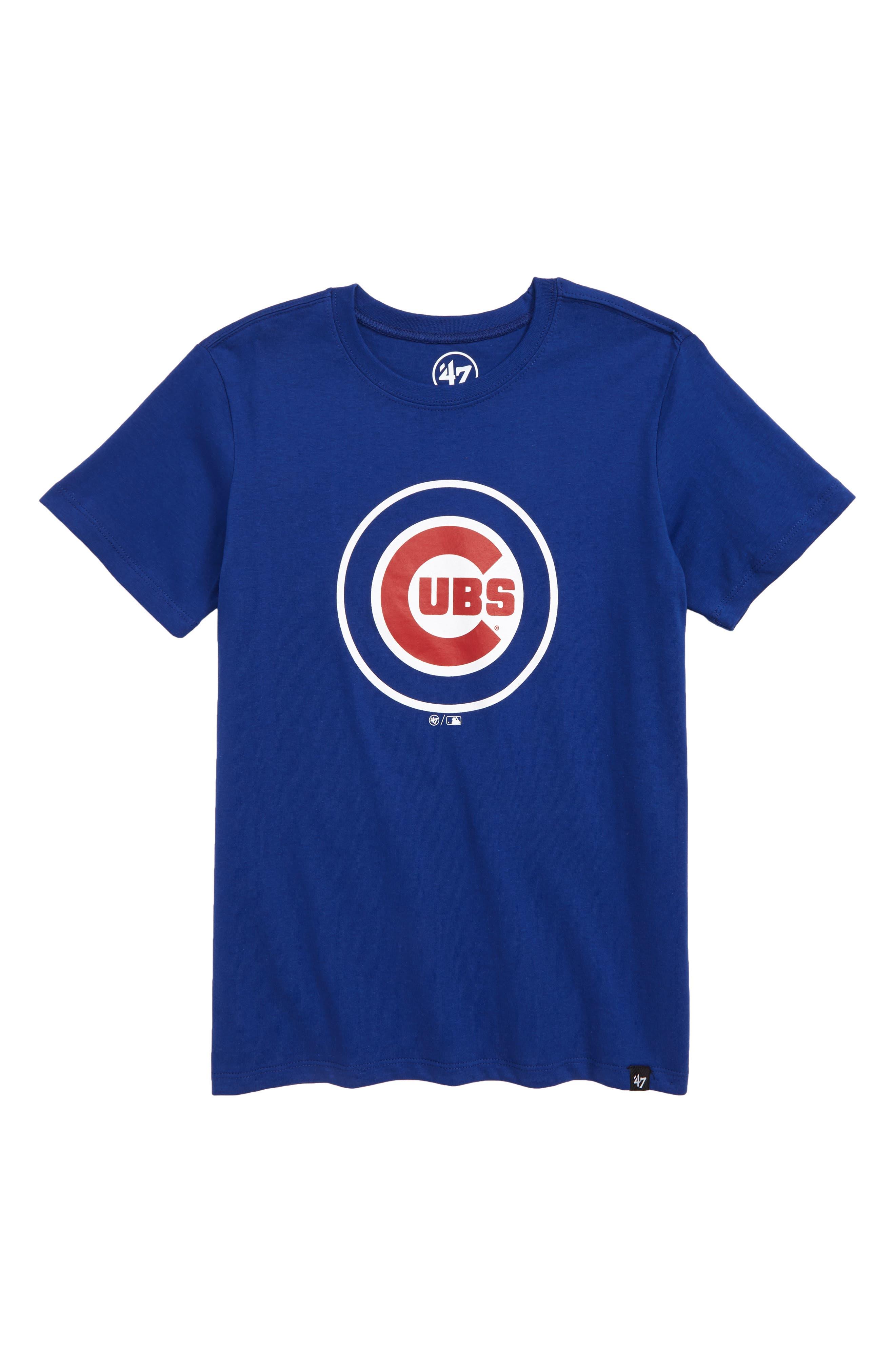 '47, Super Rival Chicago Cubs T-Shirt, Main thumbnail 1, color, ROYAL