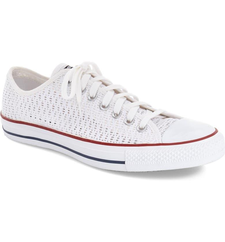 1bb2f6e1ecf Converse Chuck Taylor® All Star® Crochet Low Top Sneaker (Women ...