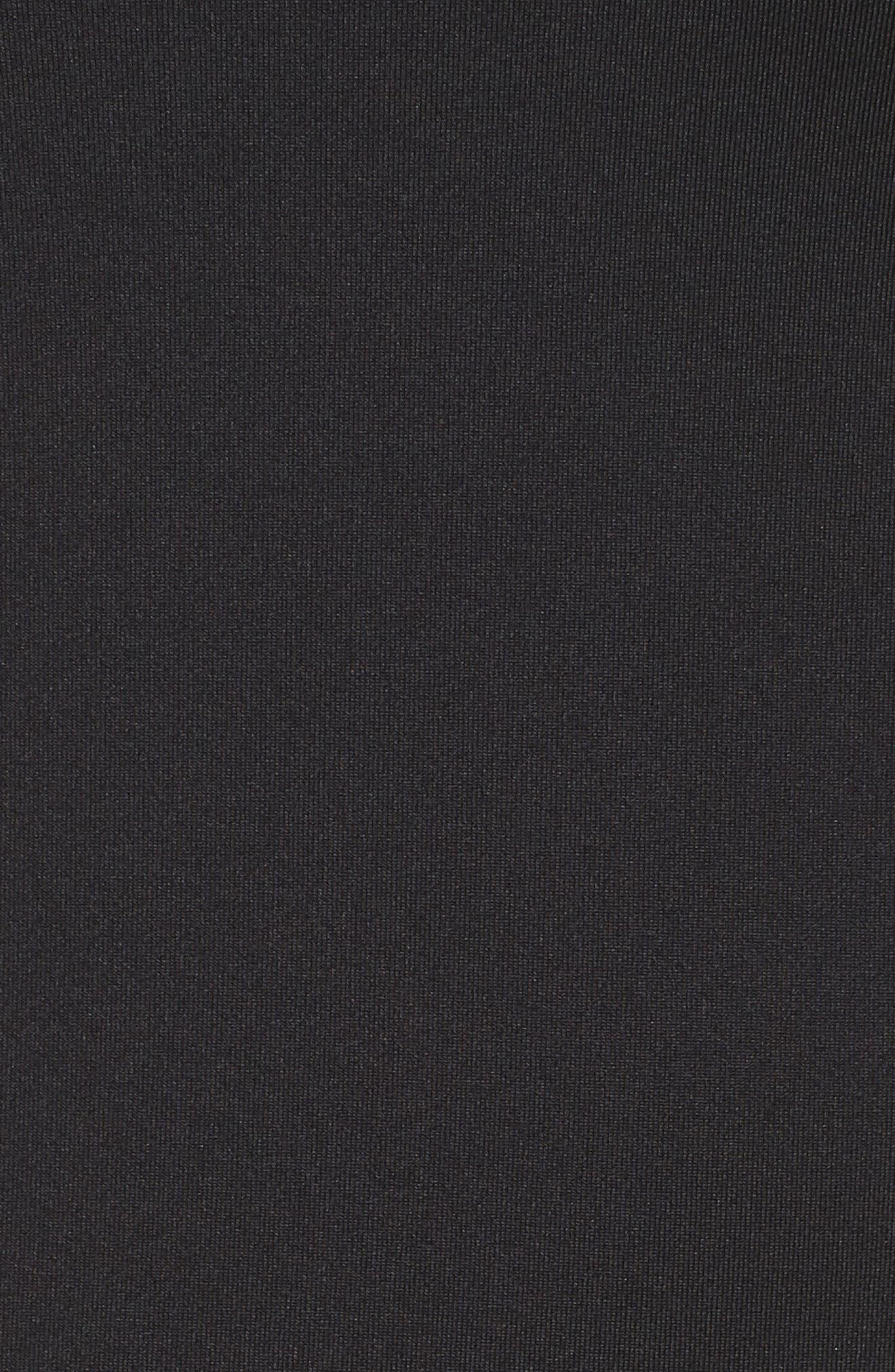 ZELLA, Realized Long Sleeve Tee, Alternate thumbnail 6, color, 001