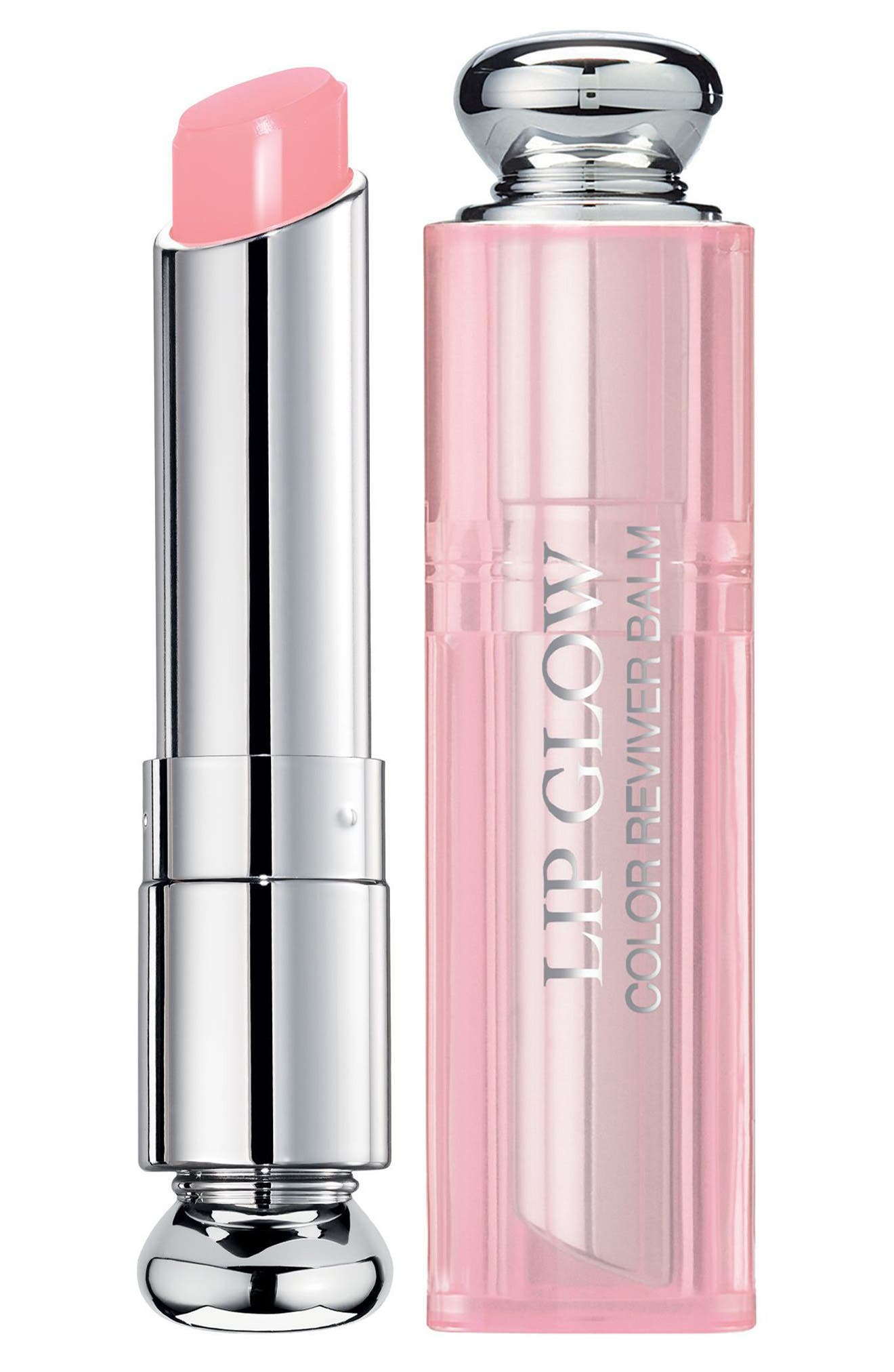 DIOR Addict Lip Glow Color Reviving Lip Balm, Main, color, 001 PINK / GLOW