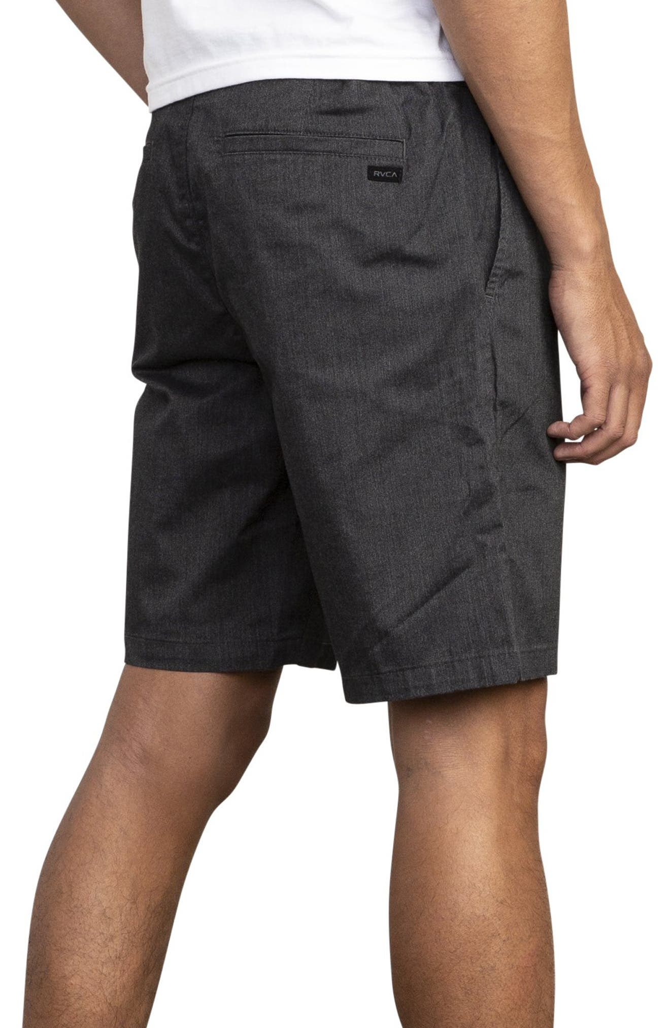 RVCA, All Time Session Shorts, Alternate thumbnail 2, color, BLACK MARLE