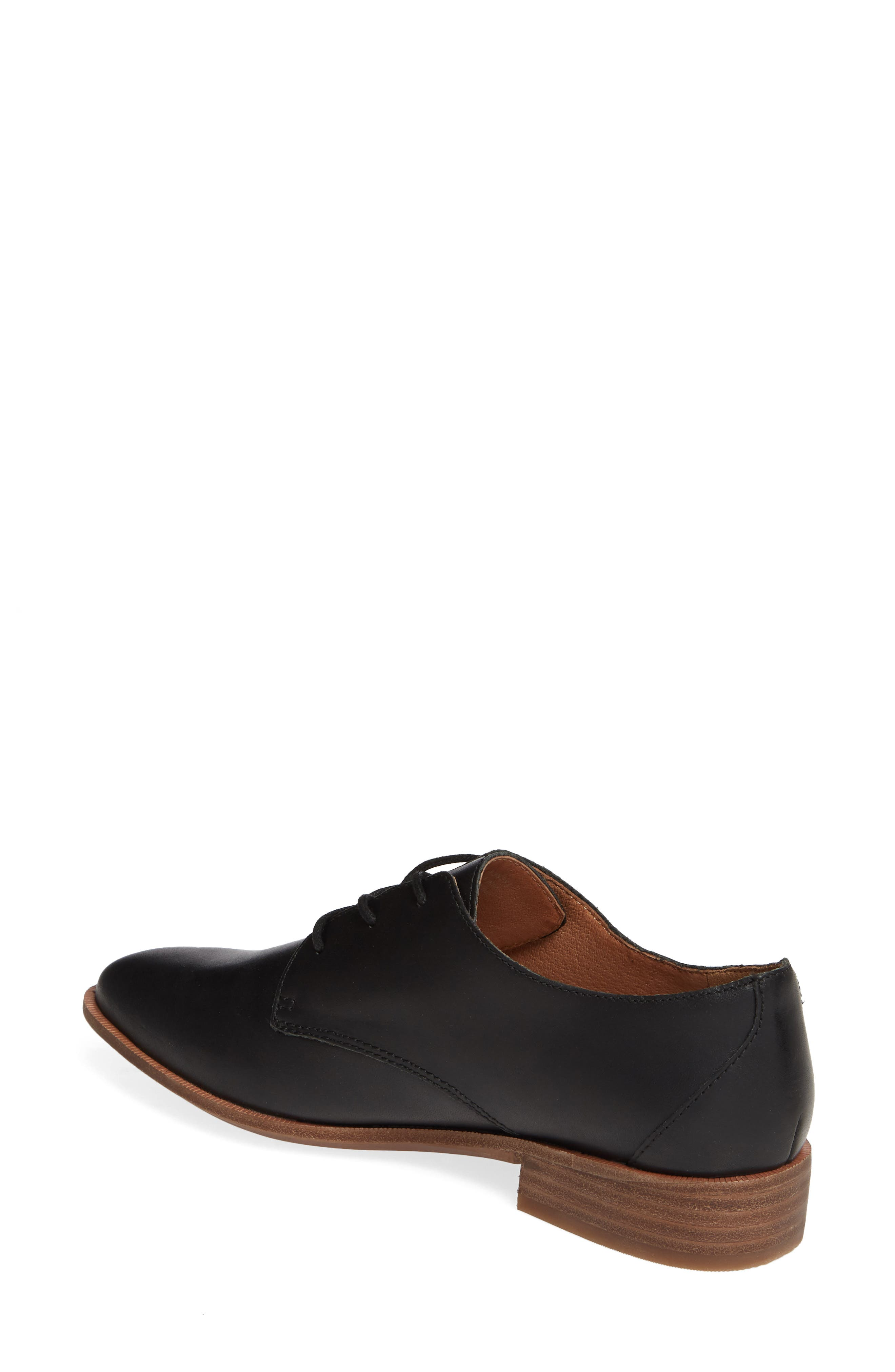 MADEWELL, The Frances Derby, Alternate thumbnail 2, color, TRUE BLACK