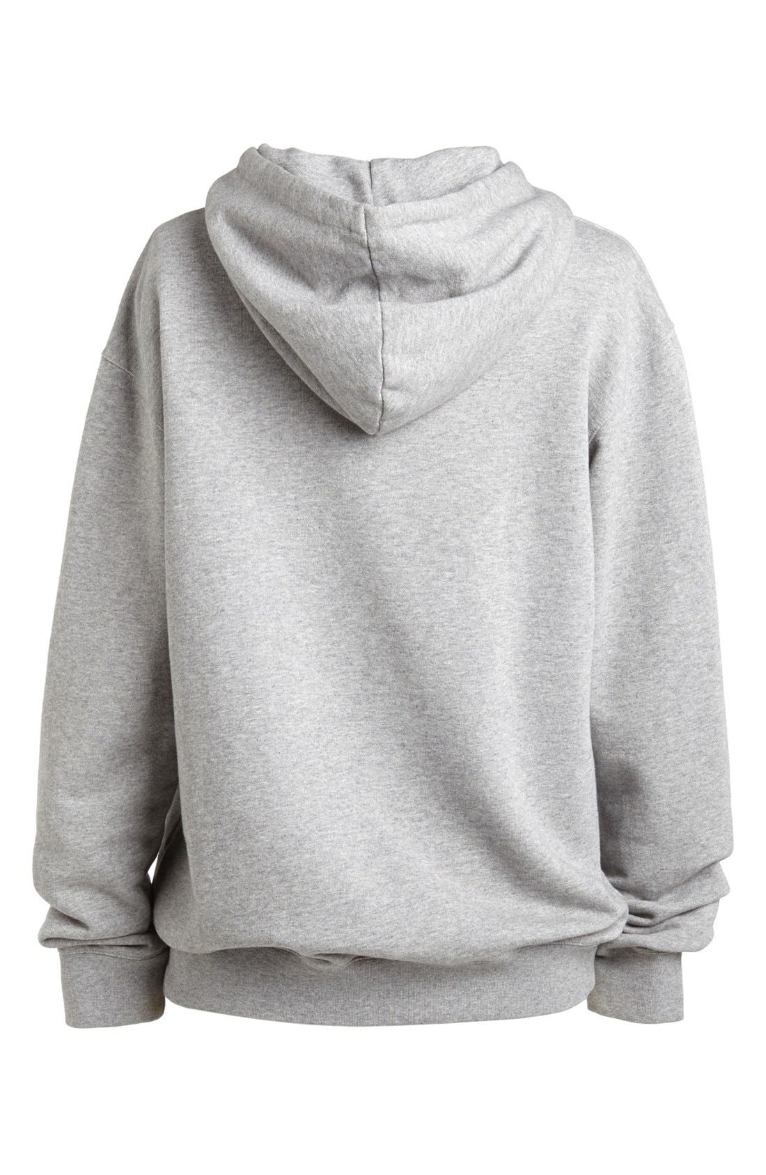 A.P.C., '87' Hoodie, Alternate thumbnail 3, color, 021